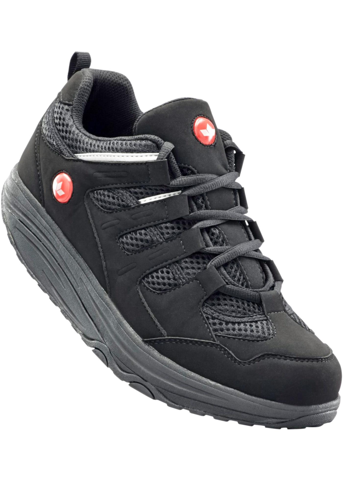 Chaussures confortables de la marque Lico avec semelle extérieure Shape-Up et semelle intérieure textile amovible.