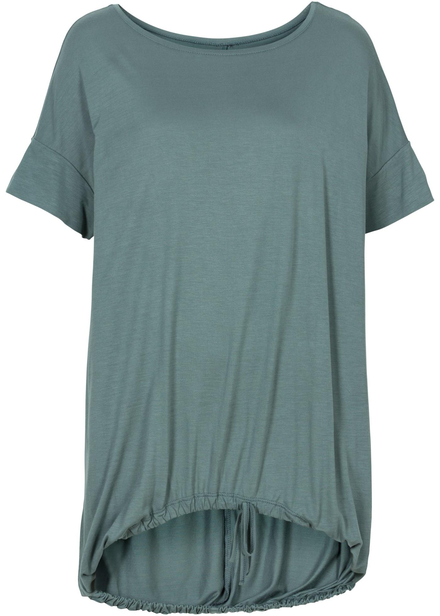 T-shirt avec finition à la base