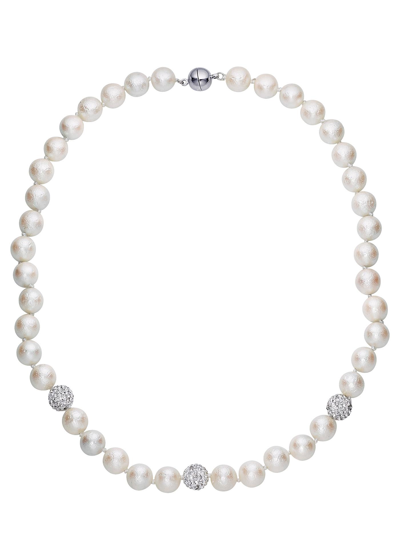 Donnez un style original à votre tenue ! À porter avec le bracelet de la même série en perles imitation culture pour une allure élégante.
