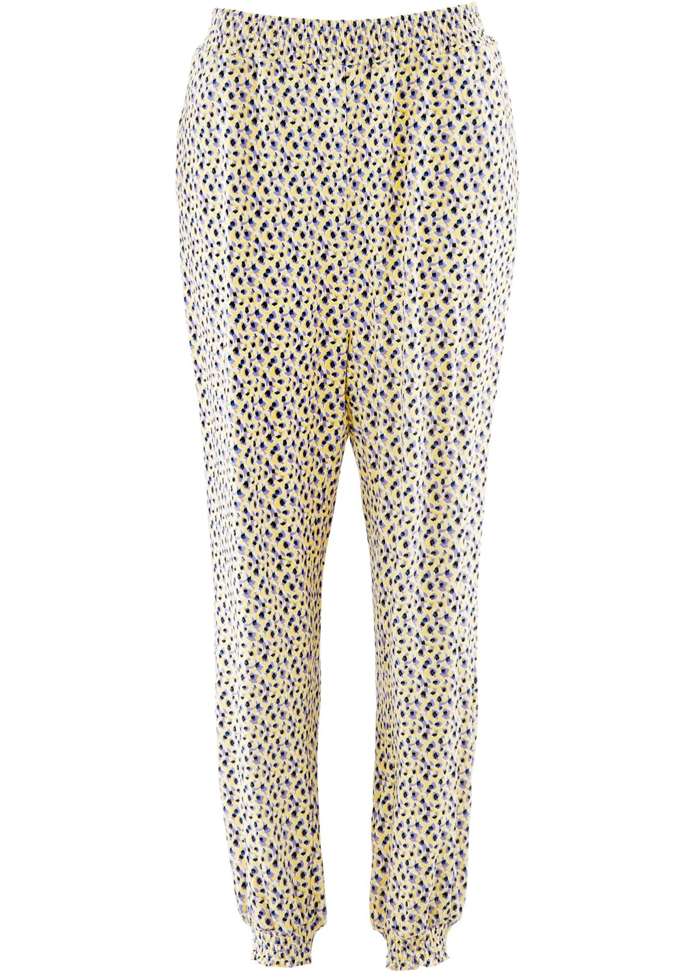 Pantalon sarouel violet femme - bonprix