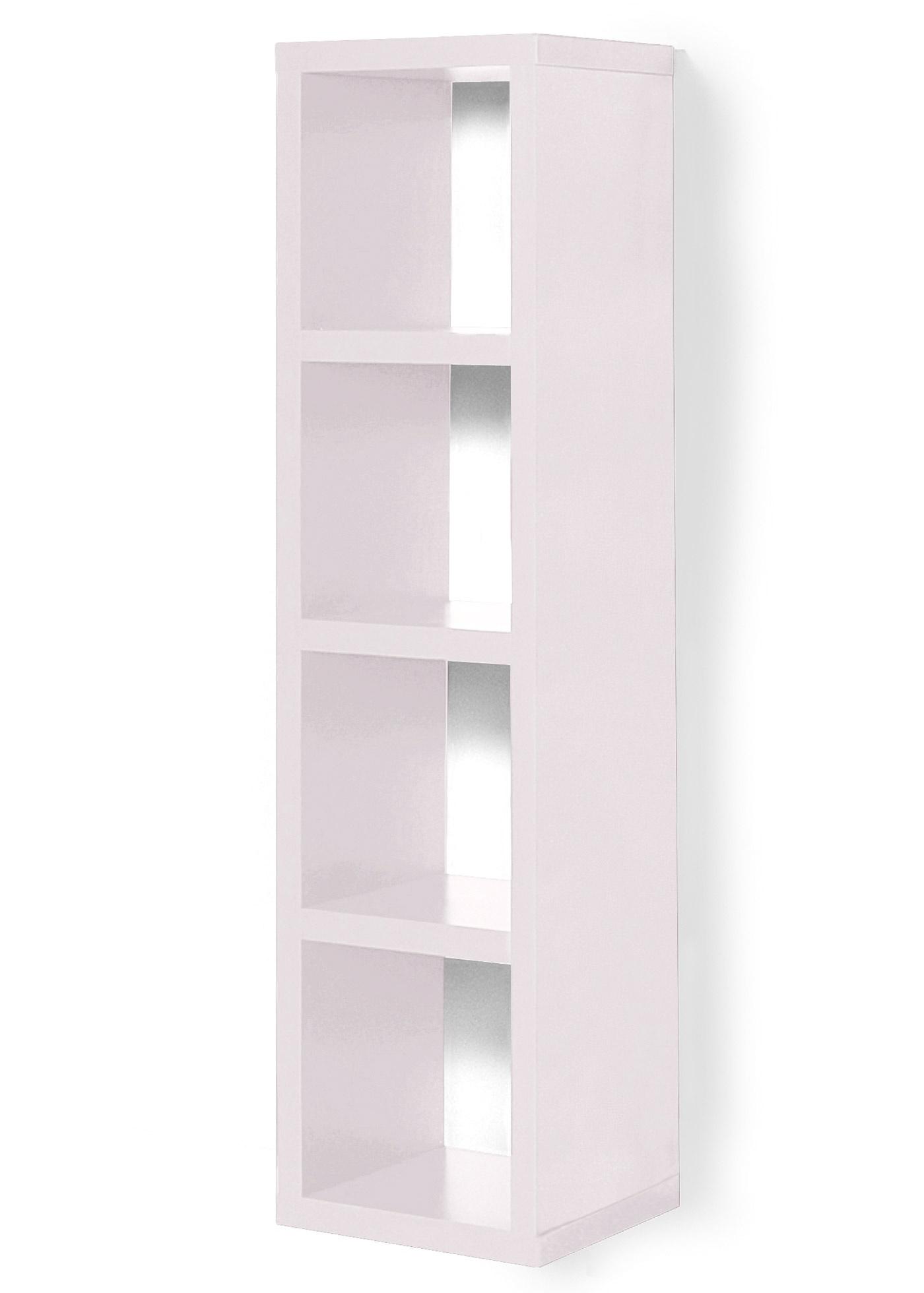 Polyvalente et pratique, l'étagère Kenia peut se placer dans le salon, la chambre ou même le couloir. Composée de quatre compartiments, elle est idéale pour ranger des livres, des boîtes ou des petits objets. Disposant d'un look moderne, elle est constitu