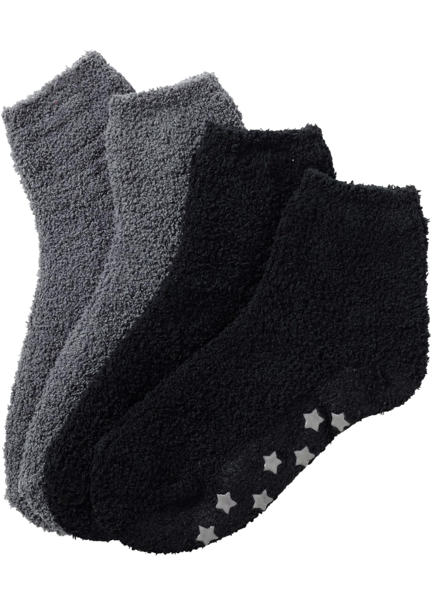 Lot de 2 paires de chaussettes douillettes