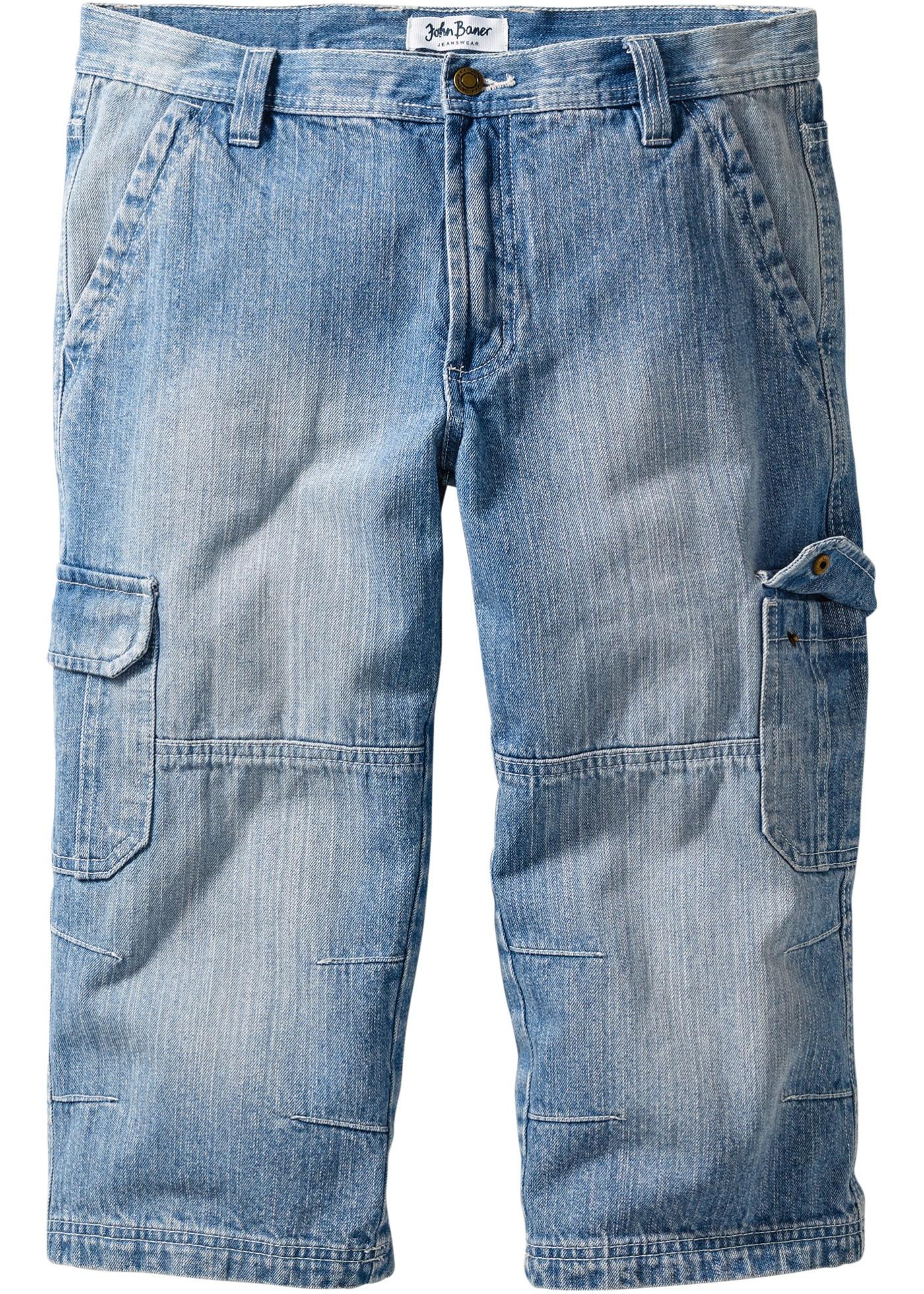 Jean 3/4 regular fit