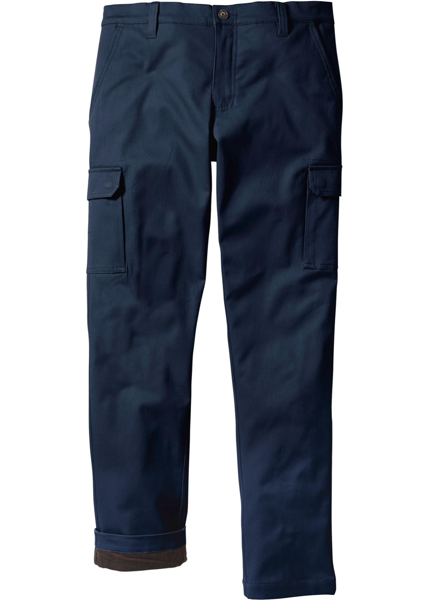 Pantalon cargo thermo Regular Fit Straight, N.