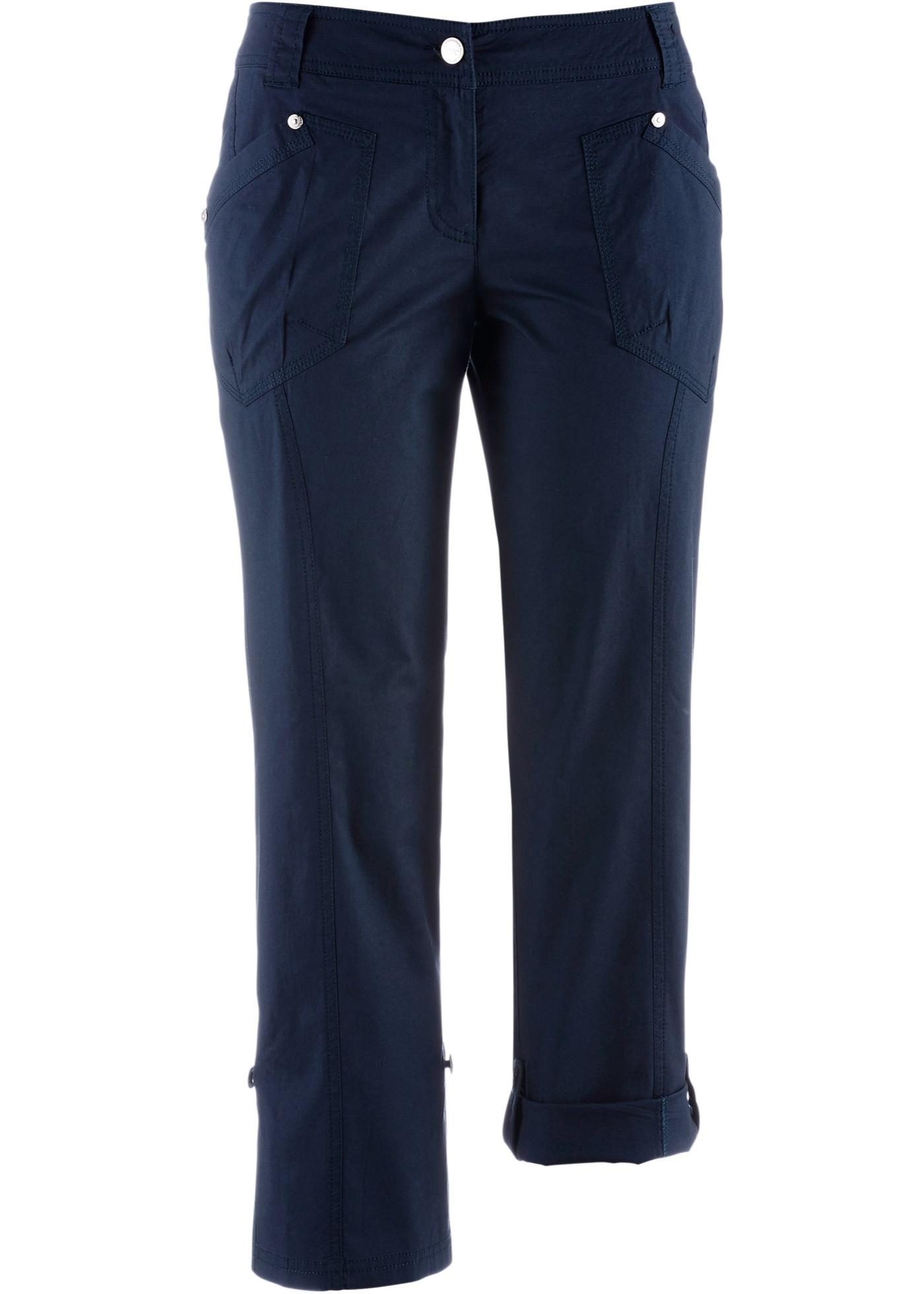 Pantalon extensible cargo 3/4