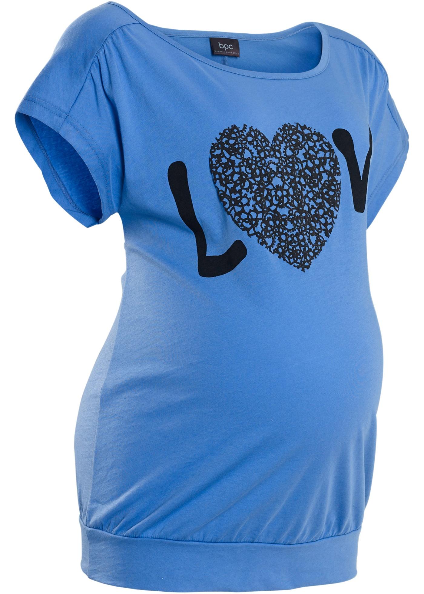 T-shirt de grossesse à manches courtes