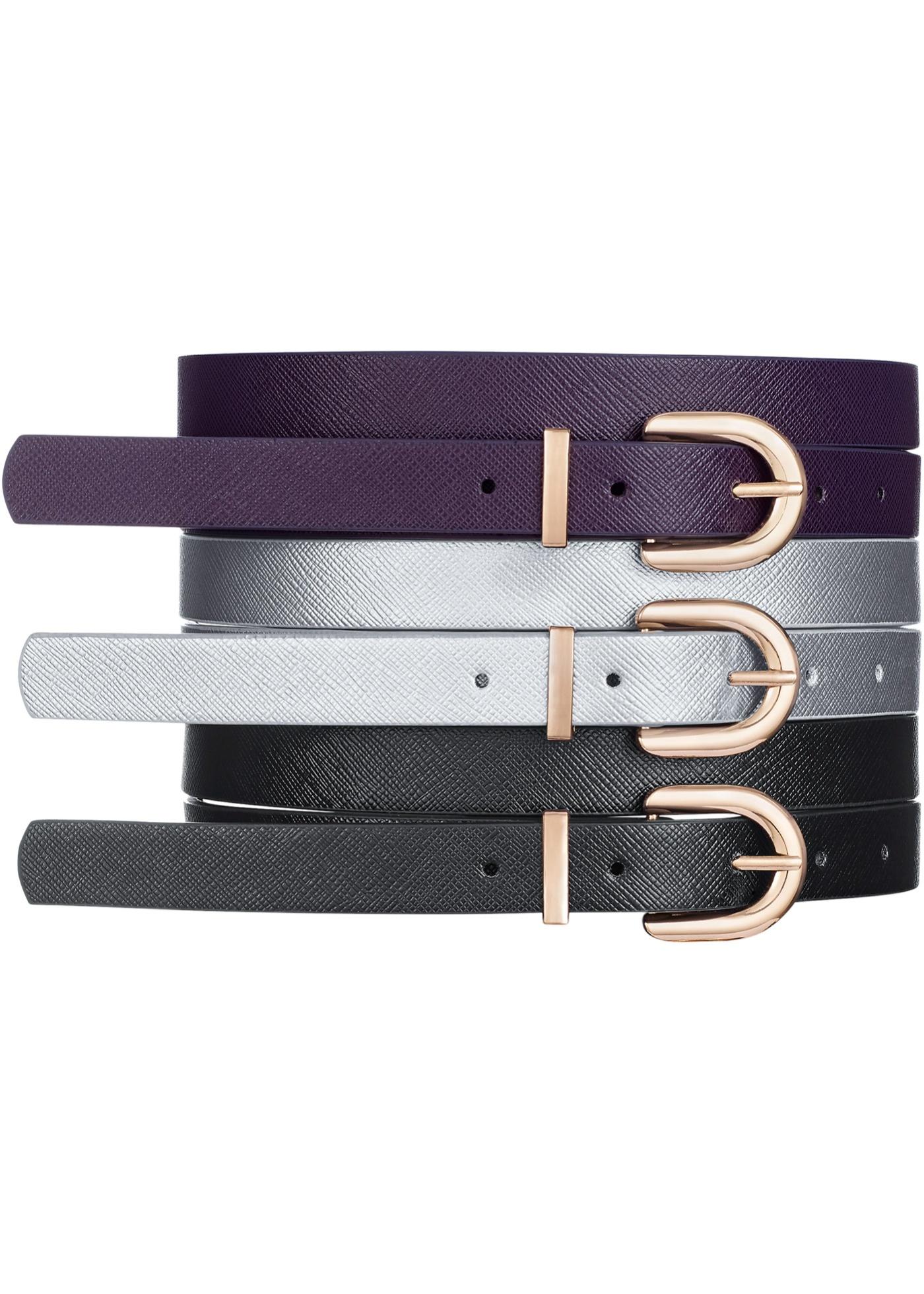 Set de 3 ceintures
