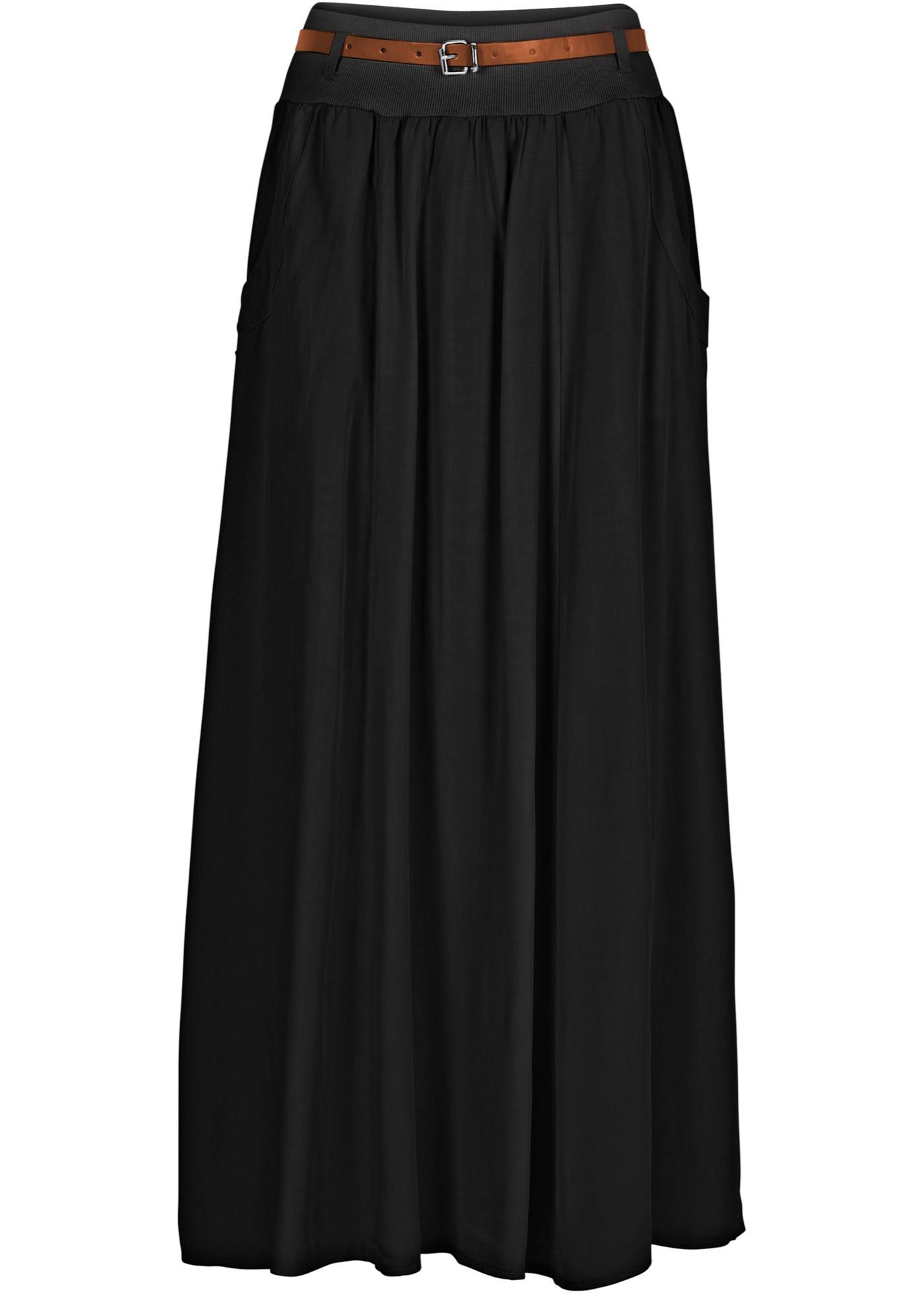 Jupe noir femme - bonprix