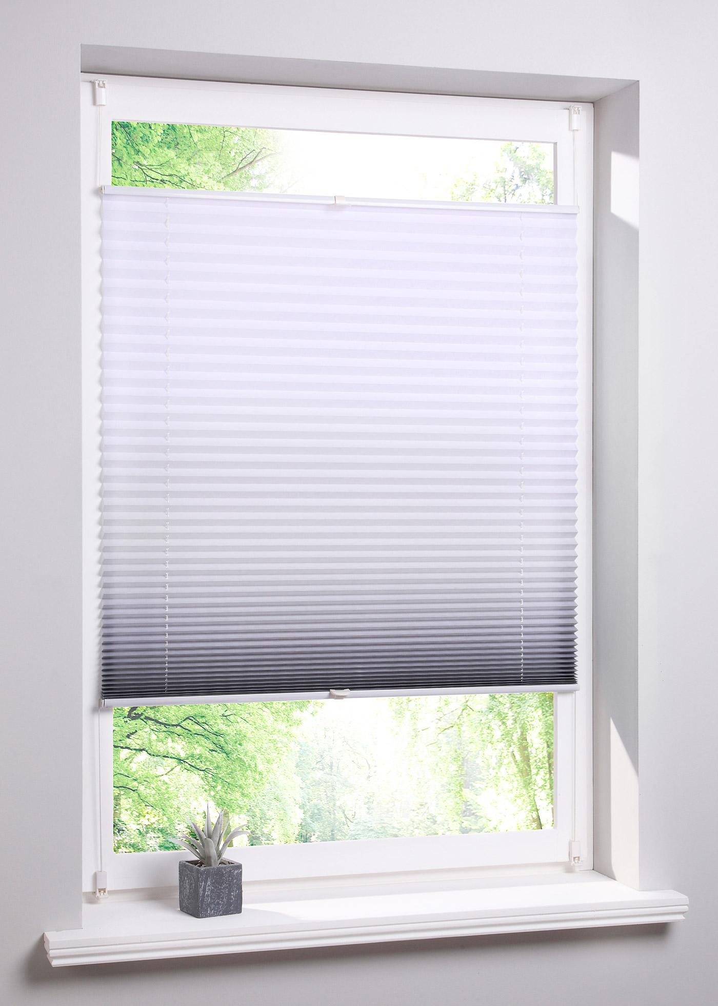 Égayez vos fenêtres avec ce store plissé moderne. Disponible en différents coloris tendance. Recto imprimé, verso clair. Protège de la lumière et des regards extérieurs, montage facile sans vis ni perceuse, avec supports de fixation à installer sur le hau