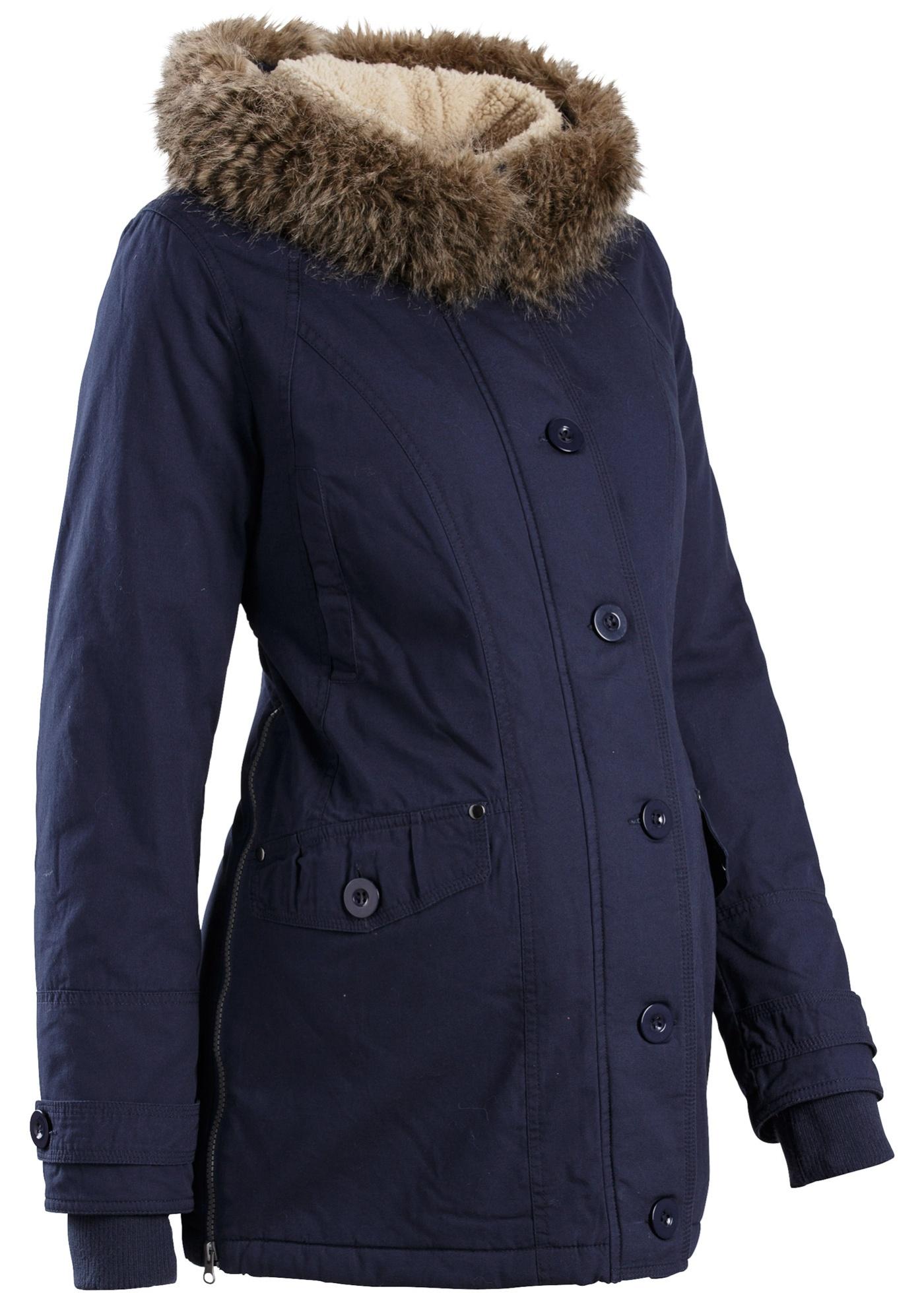 manteau de grossesse avec capuche bleu manches. Black Bedroom Furniture Sets. Home Design Ideas