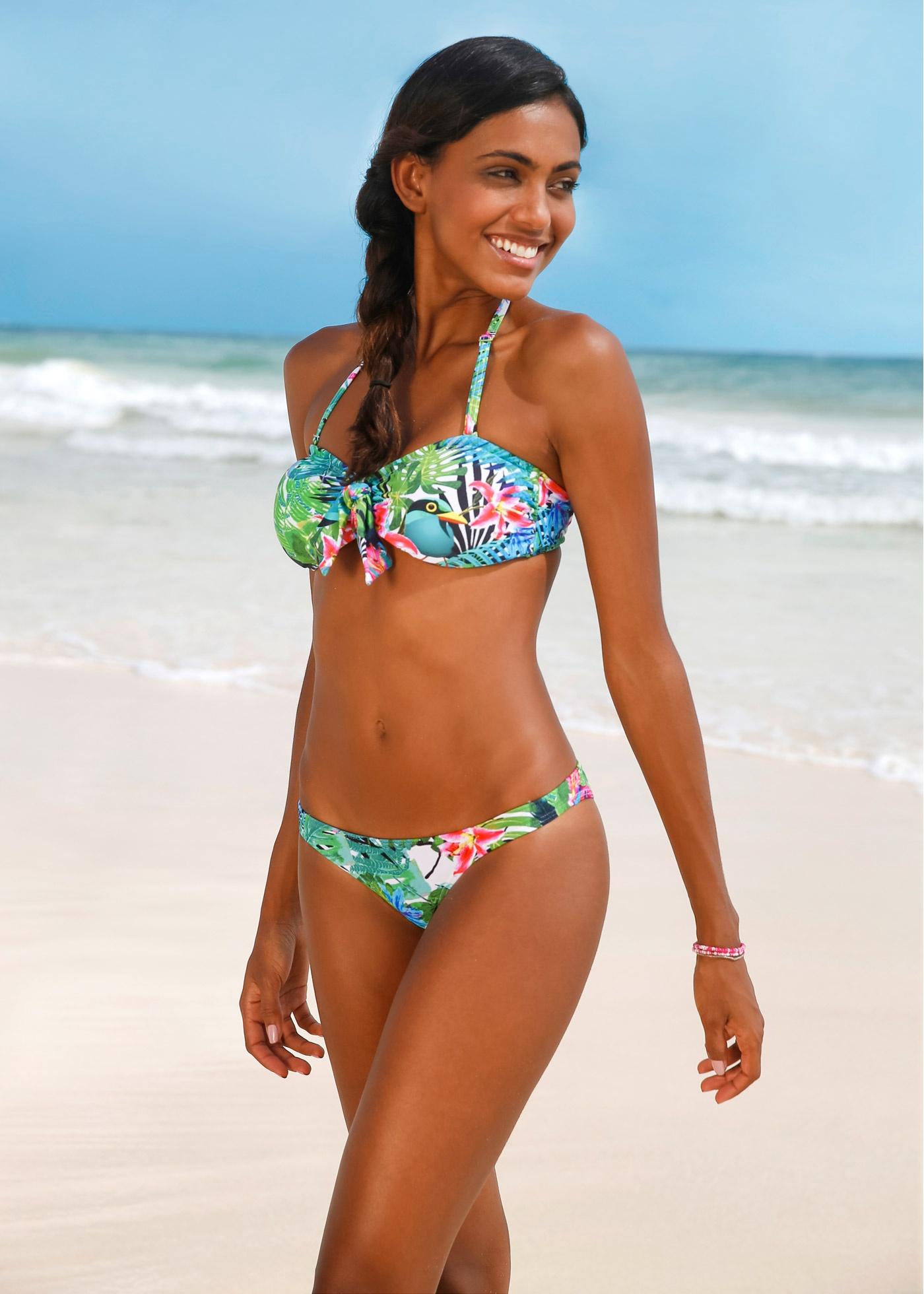 String bikini pétrole maillots de bain - bonprix