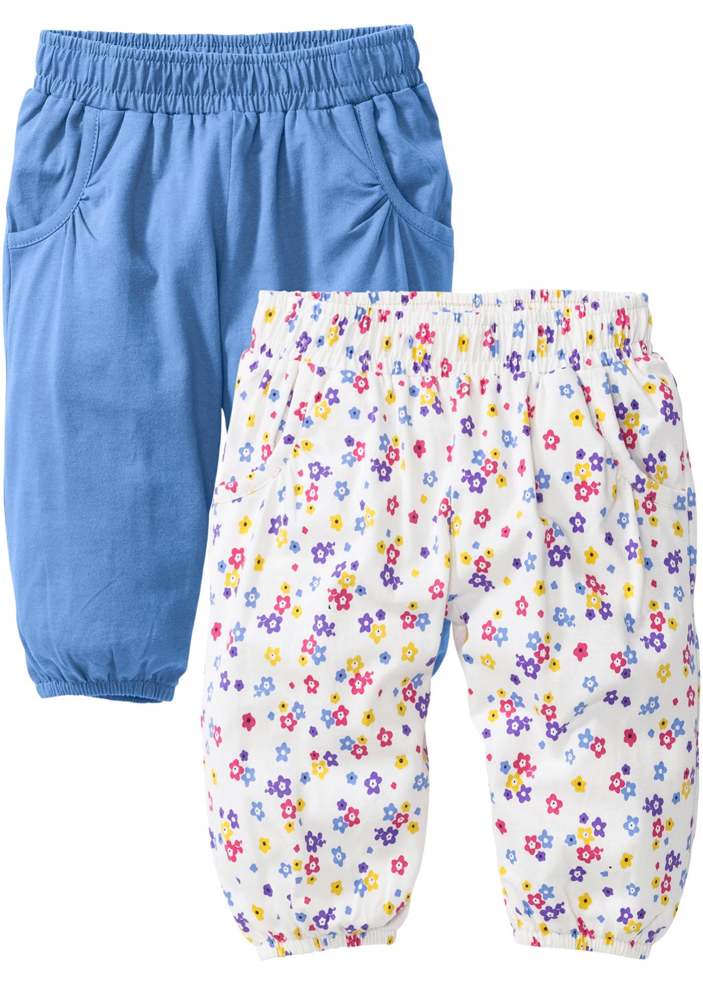 Lot de 2 pantalons sarouel bébé en coton bio,...