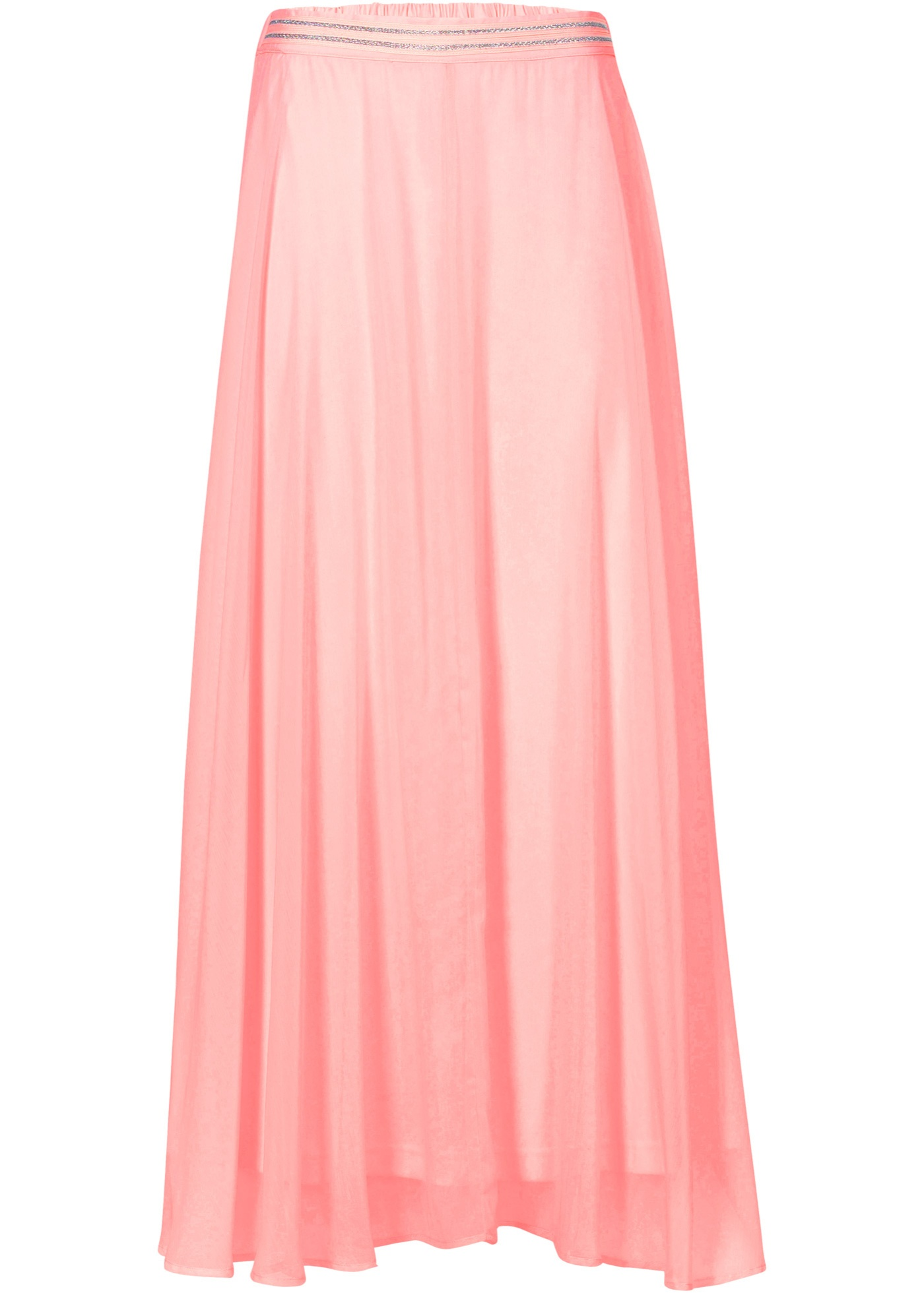 Jupe longue rose femme - bonprix