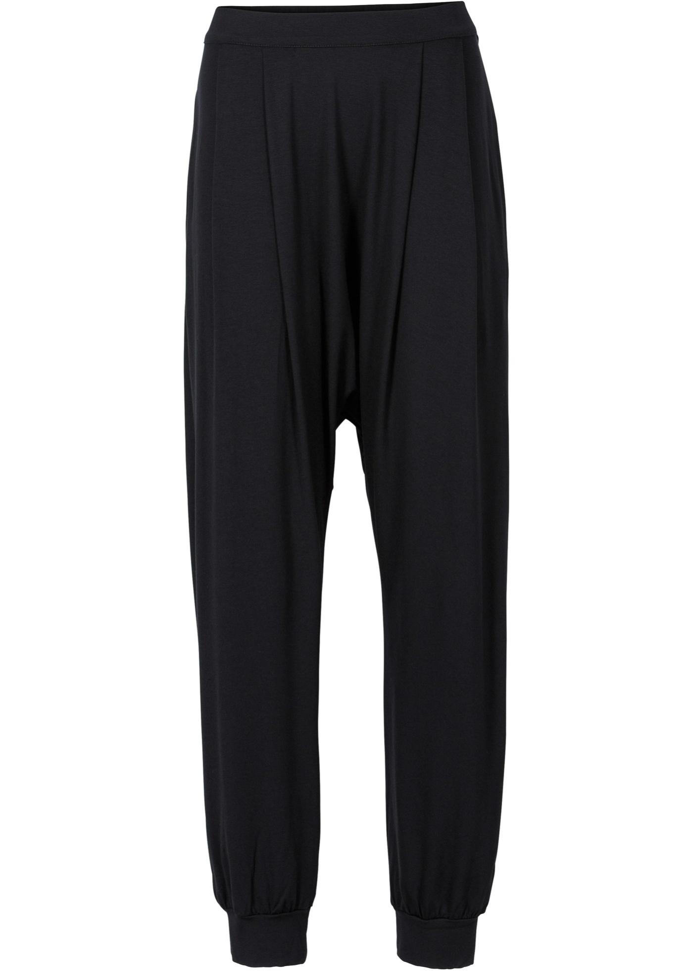 Pantalon sarouel noir femme - bonprix