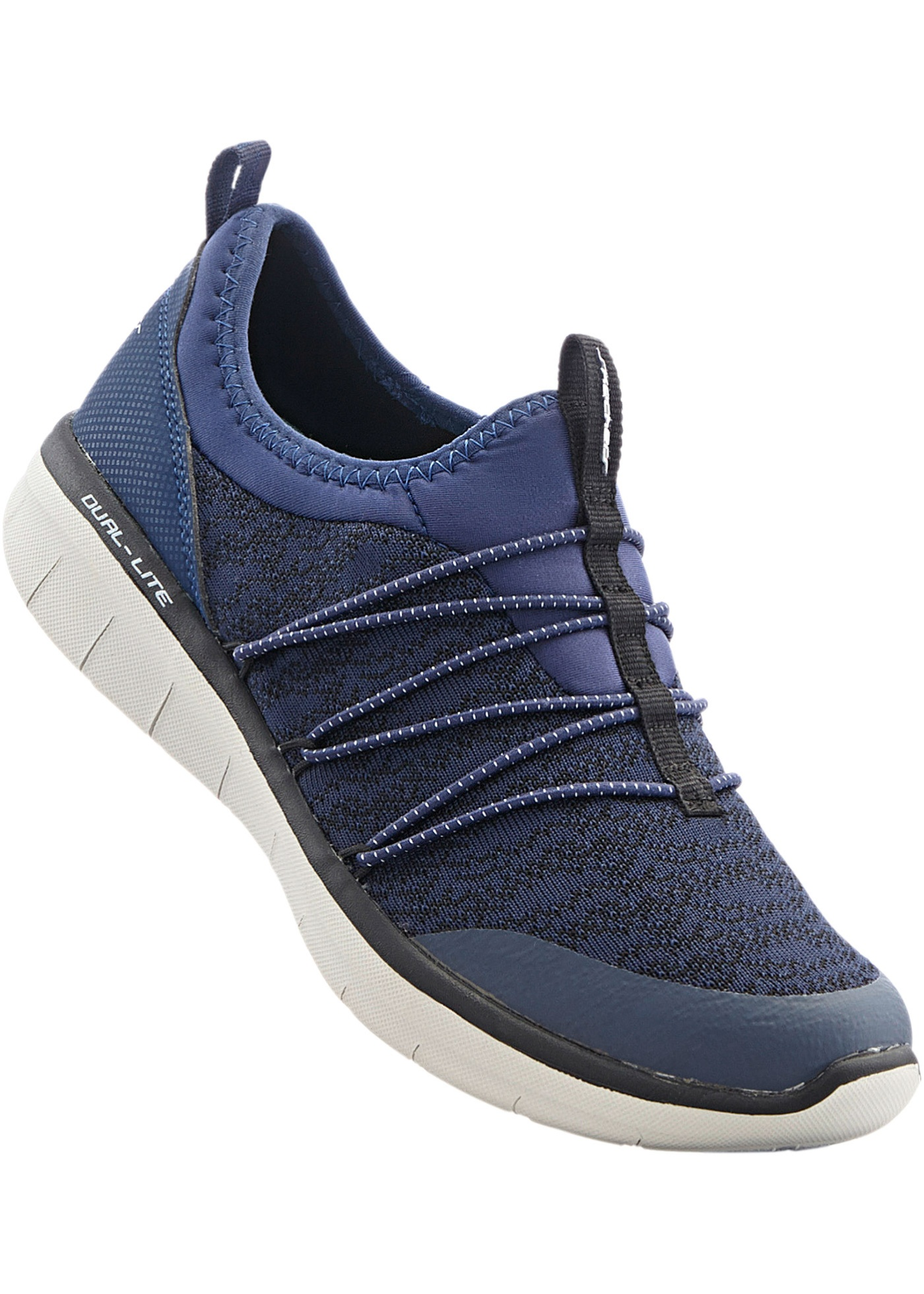 Sportives et en couleur vive, à enfiler, Skechers avec semelle à mémoire de forme.