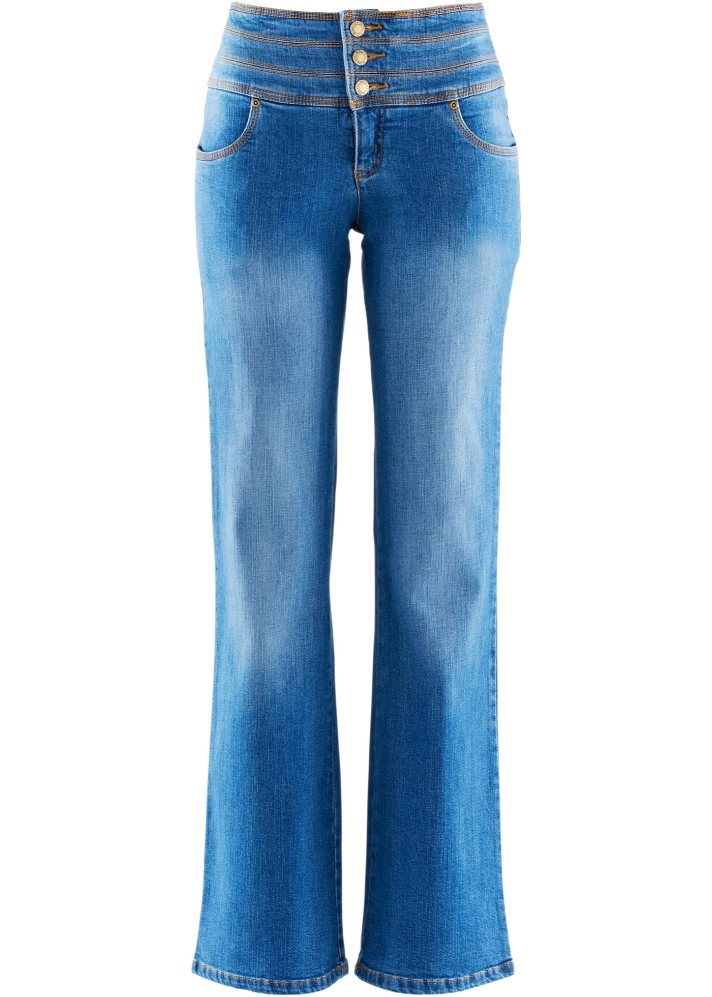 Jean shaping stretch ventre plat bootcut, T.C.