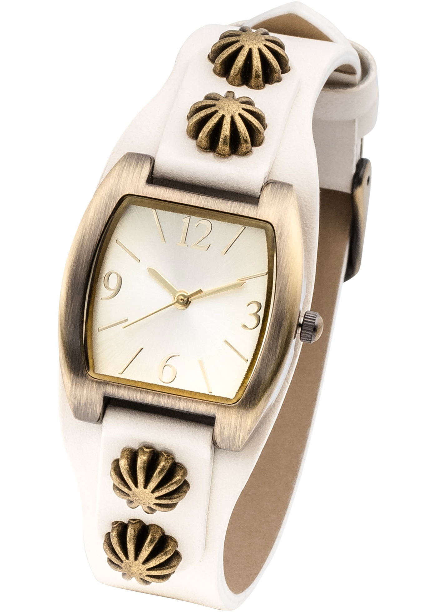 Montre à bracelet avec éléments bijoux