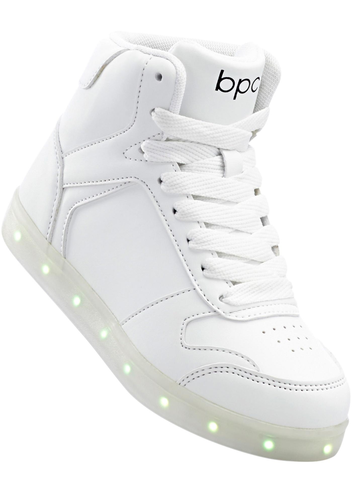Baskets avec semelle à LED