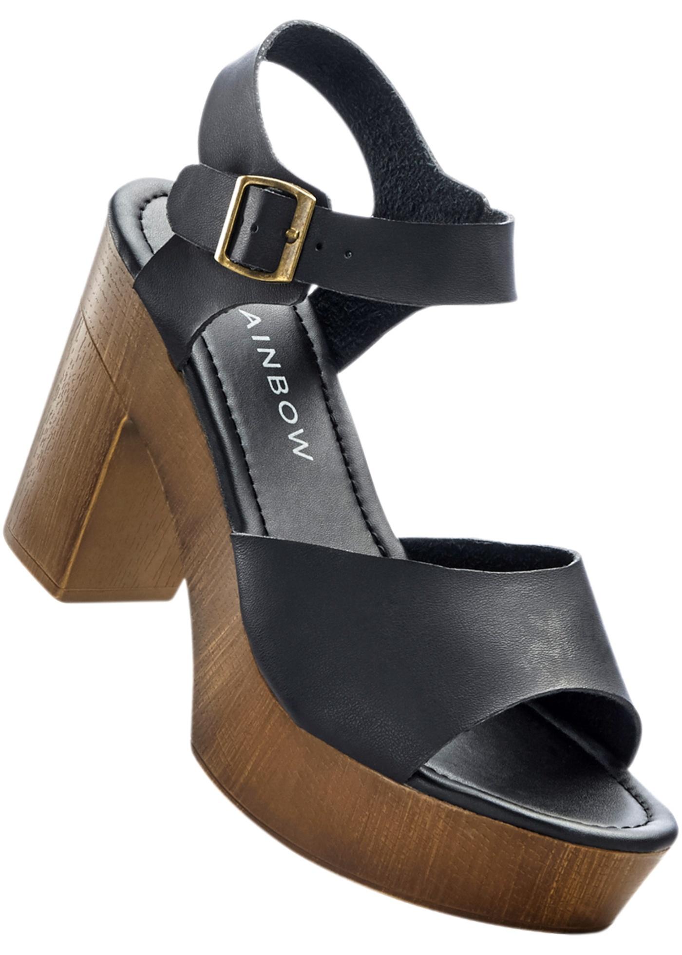 Sandales à plateau