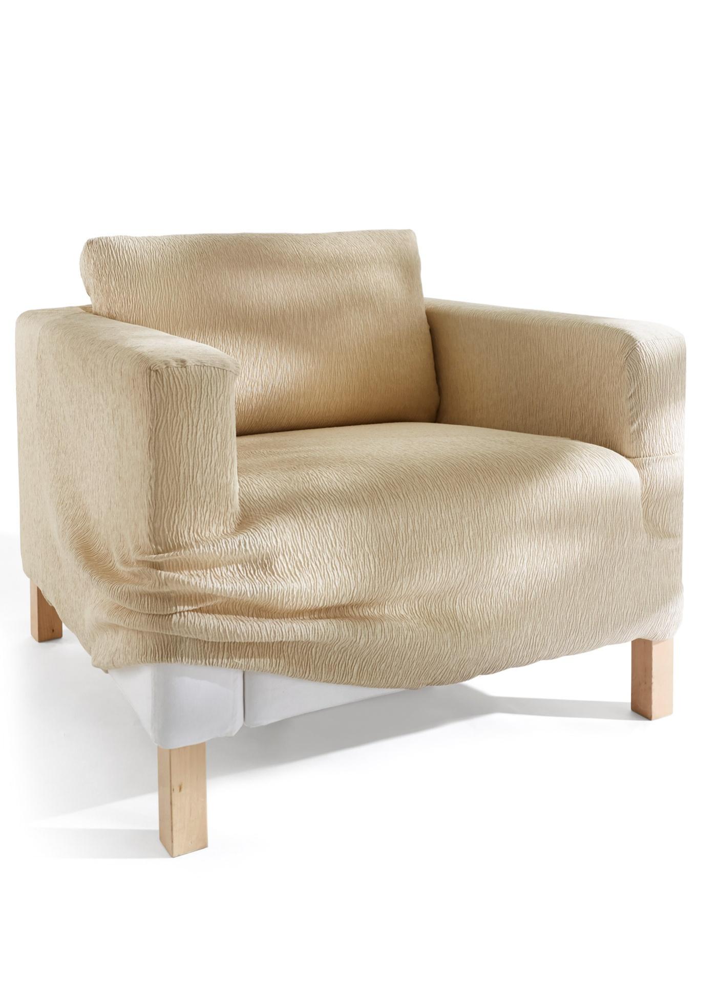 """Housse extensible élégante pour vos meubles. Matière très élastique et extrêmement souple. Facile d""""entretien et robuste. Disponible en plusieurs tailles et coloris. La coupe excellente permet d""""adapter la housse à de nombreuses formes de canapé"""