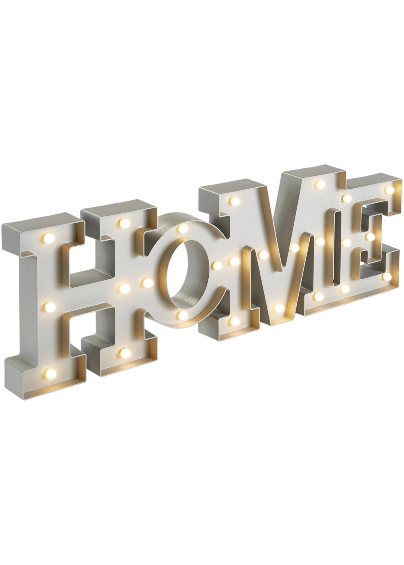 Inscription à LED Home