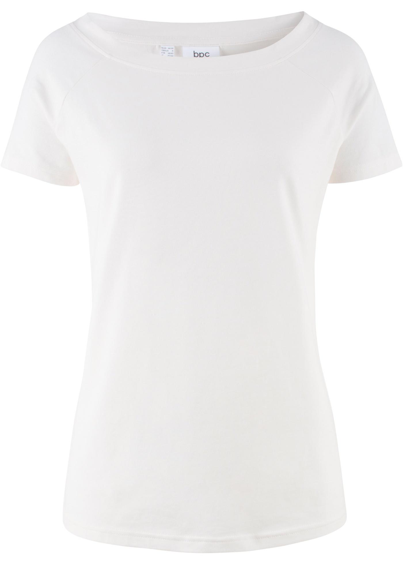 T-shirt manches 1/2 à encolure bateau