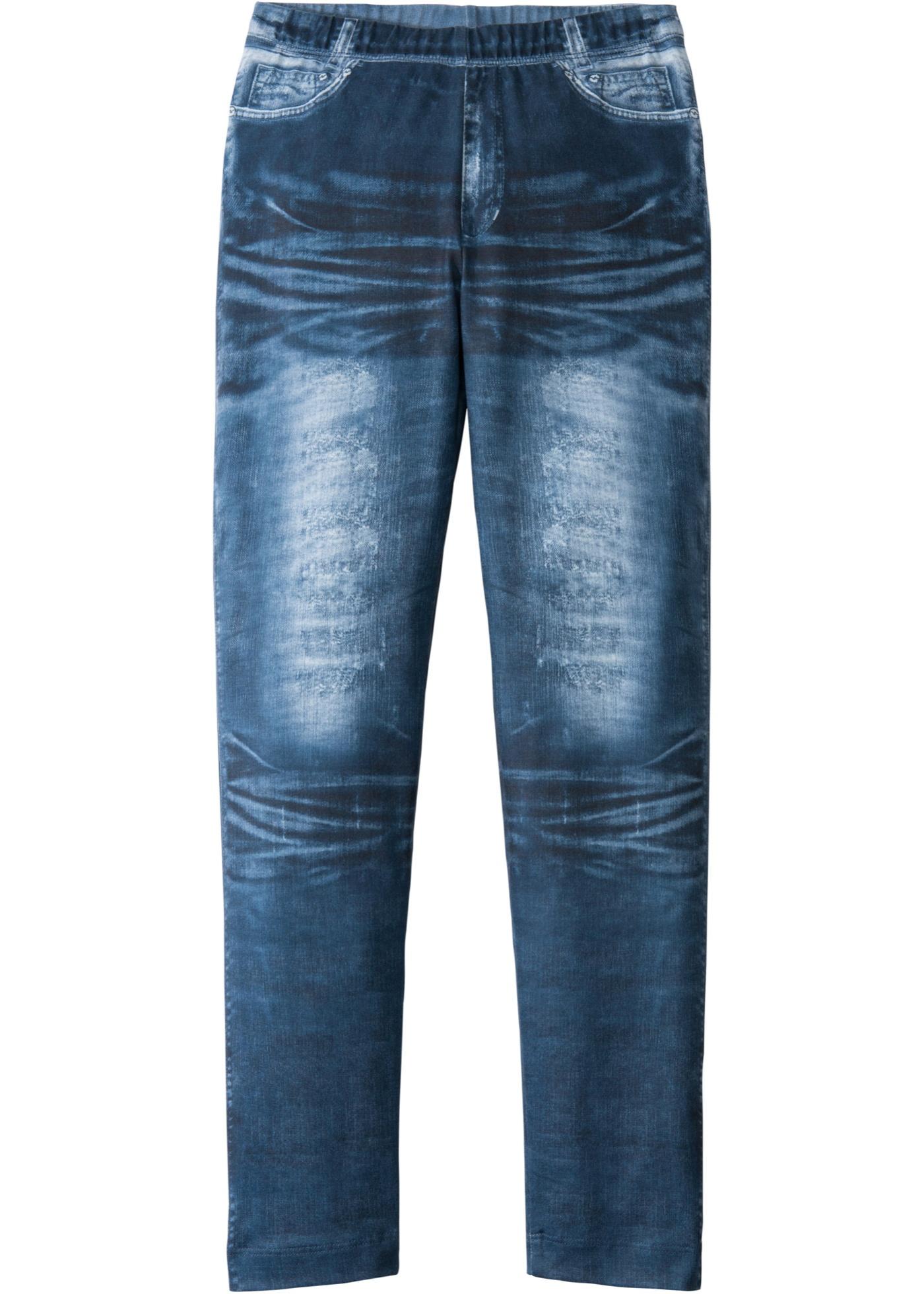 Legging imprimé jean