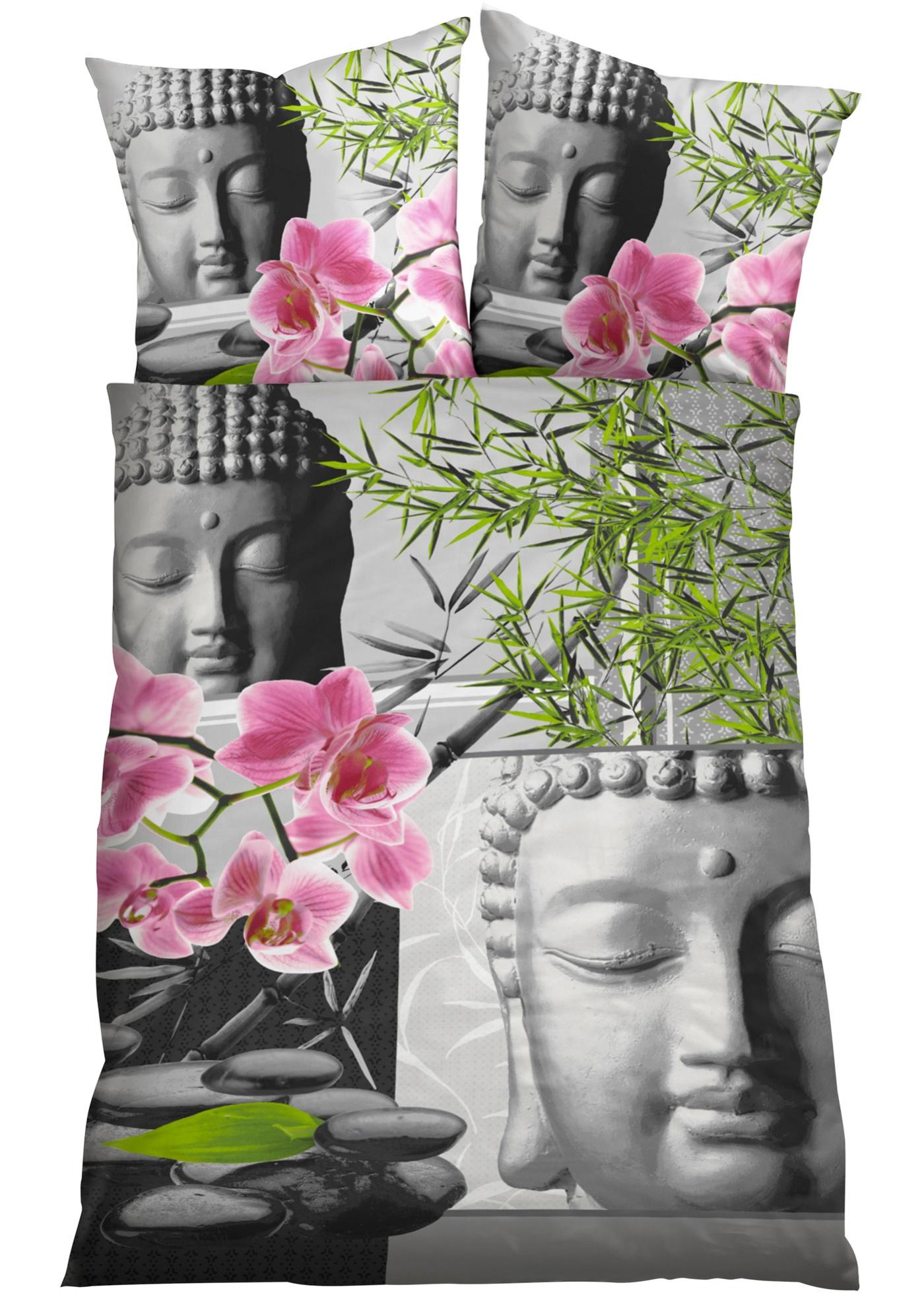 Parure de lit Bouddha, renforcée