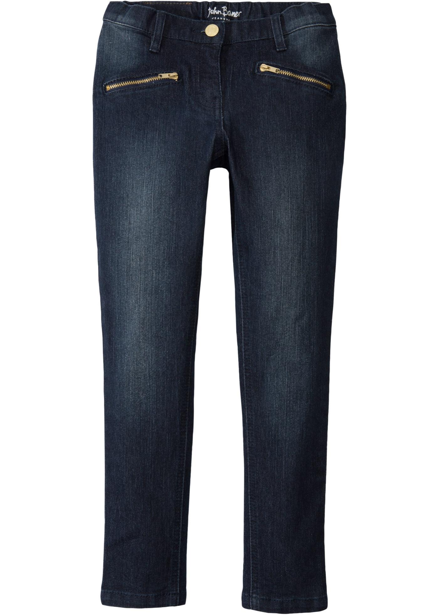 Jean skinny avec poches décoratives