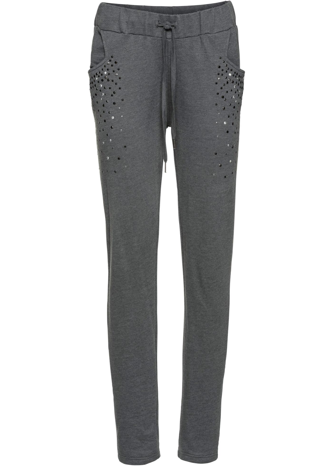 Pantalon sweat avec rivets