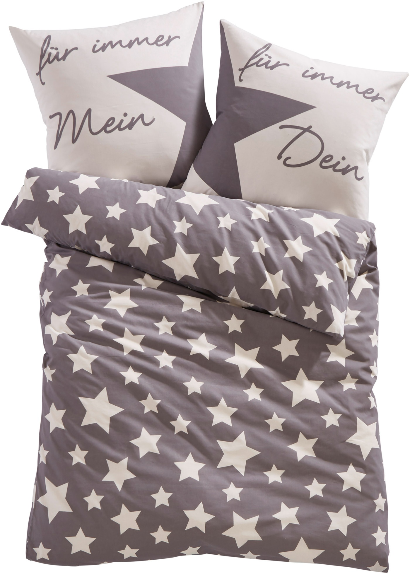 Ce magnifique linge de lit imprimé avec des motifs étoiles est pile dans la tendance du moment, en fil fin et lisse, il est très agréable sur la peau.