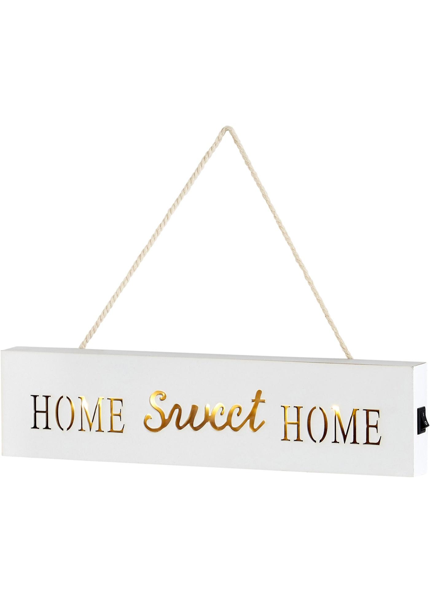 Écriteau LED Home Sweet Home