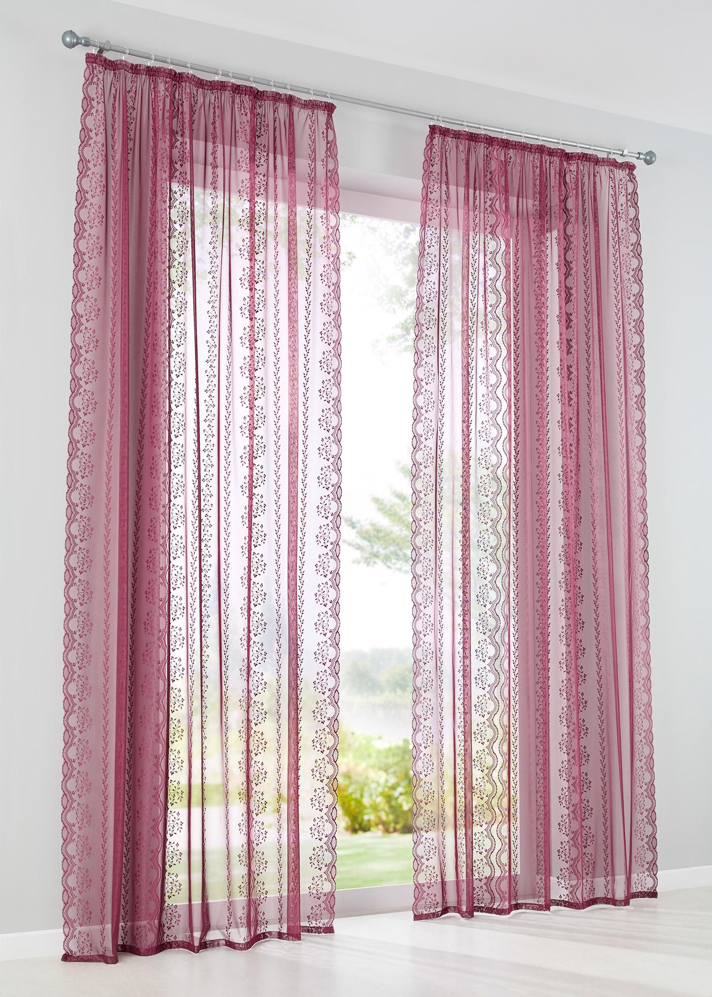 Voilage transparent, tissu jacquard de qualité élevé à motif féminin, dimensions = dimensions du tissu.