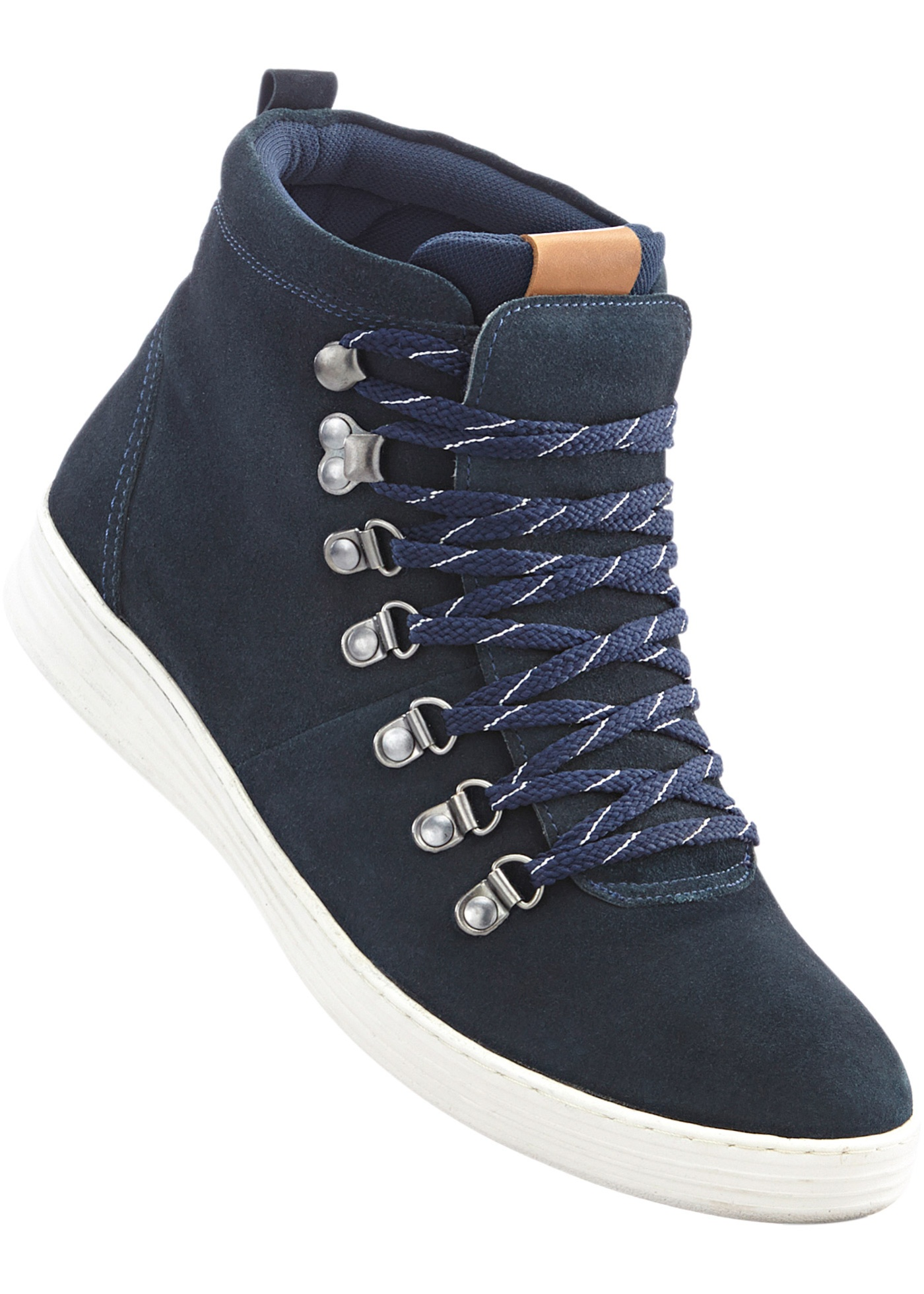 Boots à lacets en cuir