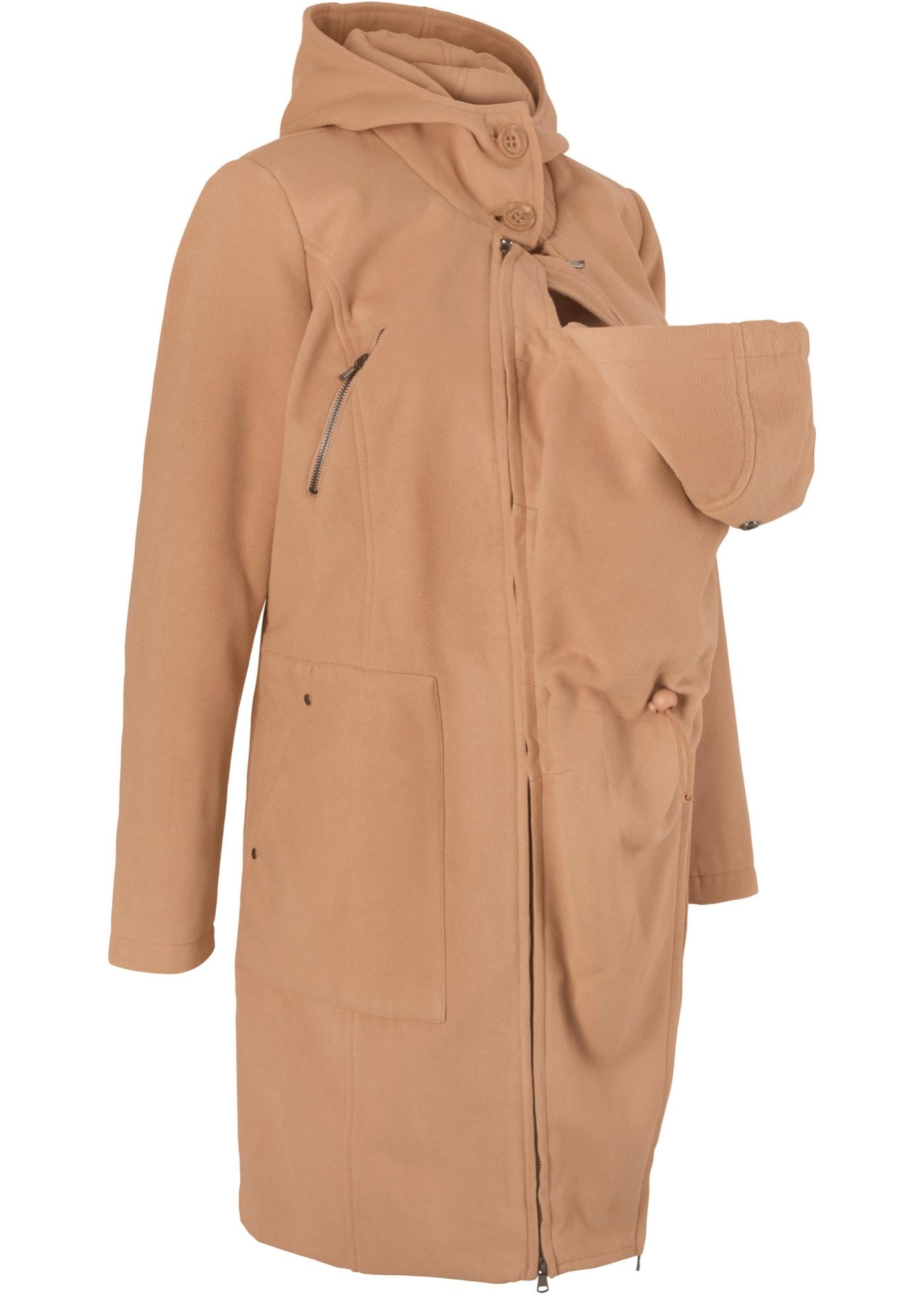 Manteau de grossesse avec empi?cement pour bébé (pour devant et dos)