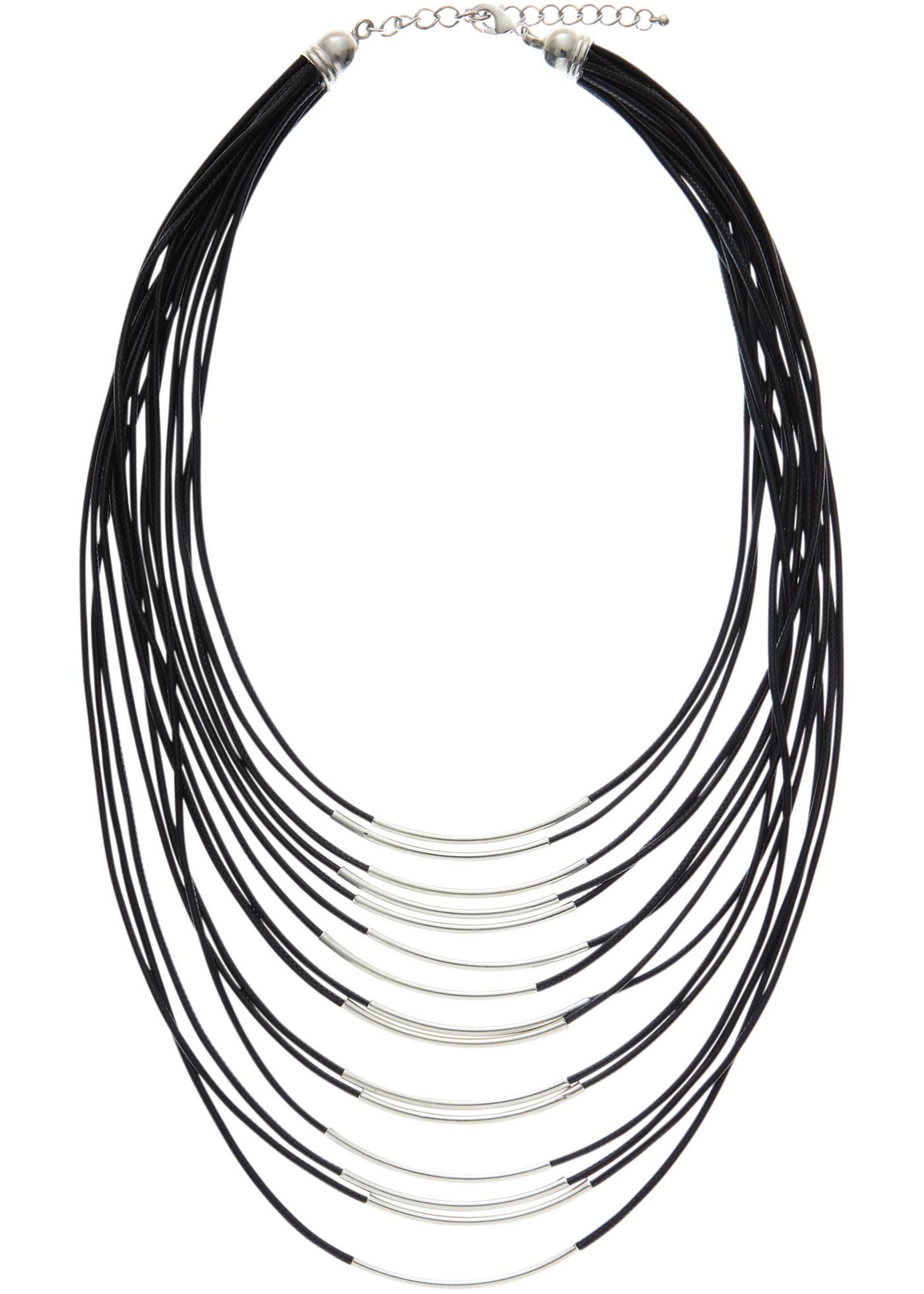 Un accessoire chic à avoir absolument dans sa boîte à bijoux. Longueur (intérieur) : env. 45 cm + chaînette rallonge 7 cm.
