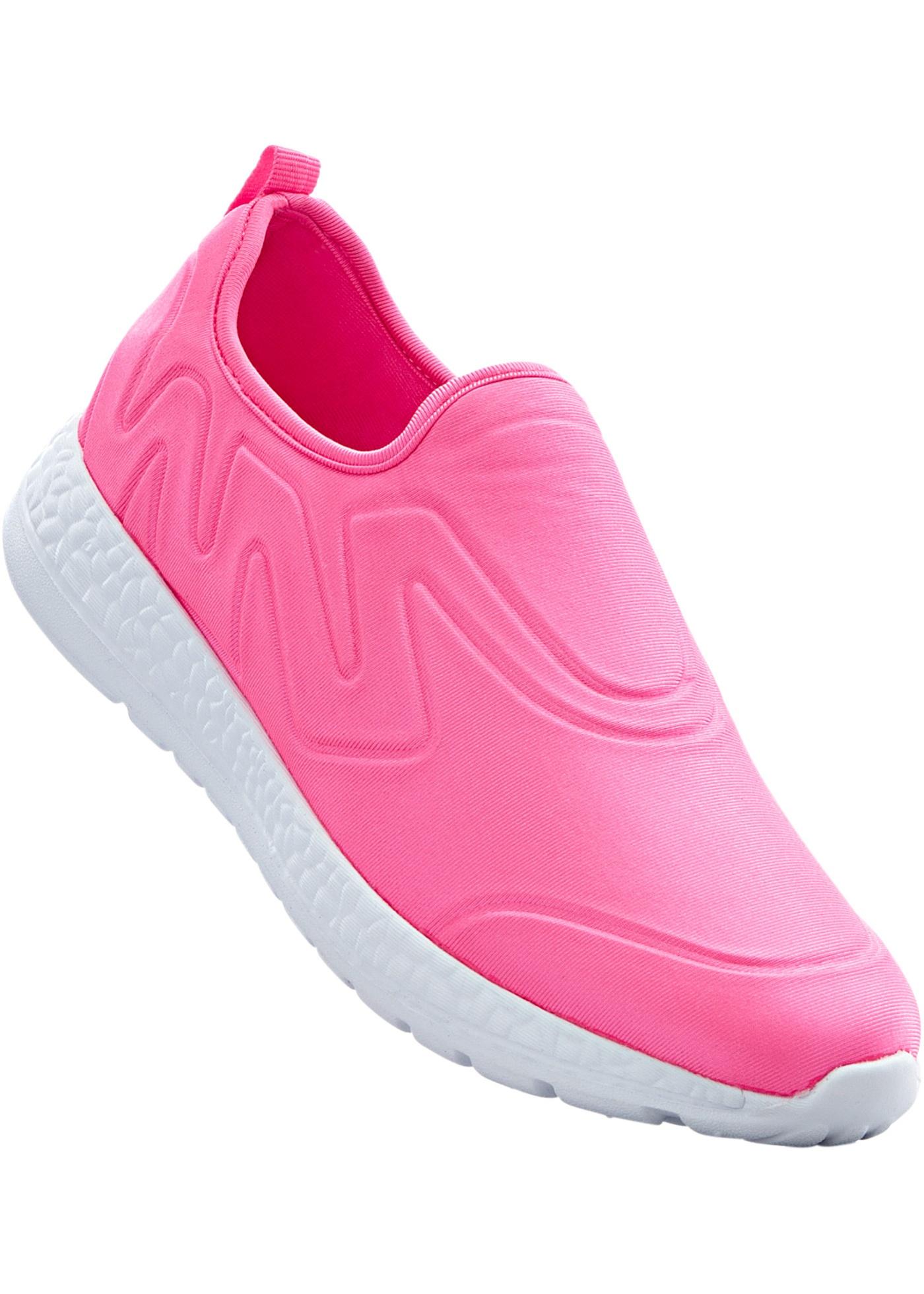 Sneakers avec première amovible, dessus souple avec rembourrage agréable, semelle extérieure très légère.