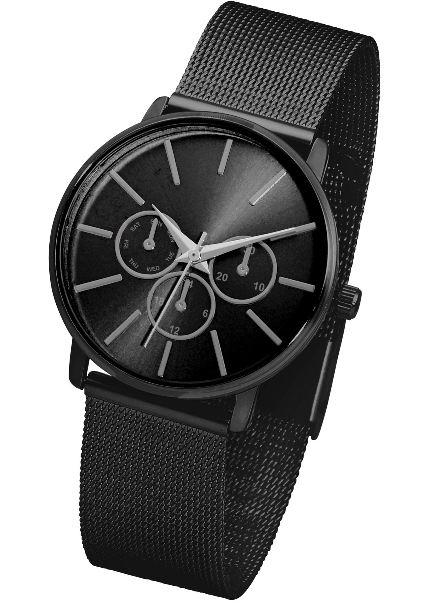 Affichez la tendance à votre poignet : le bracelet en mesh attire irrésistiblement le regard et souligne votre style original. Design intemporel convenant à de nombreux looks. Prix comprenant éco-participation (F)=0,01€ ou recupel (B) =0,05€.