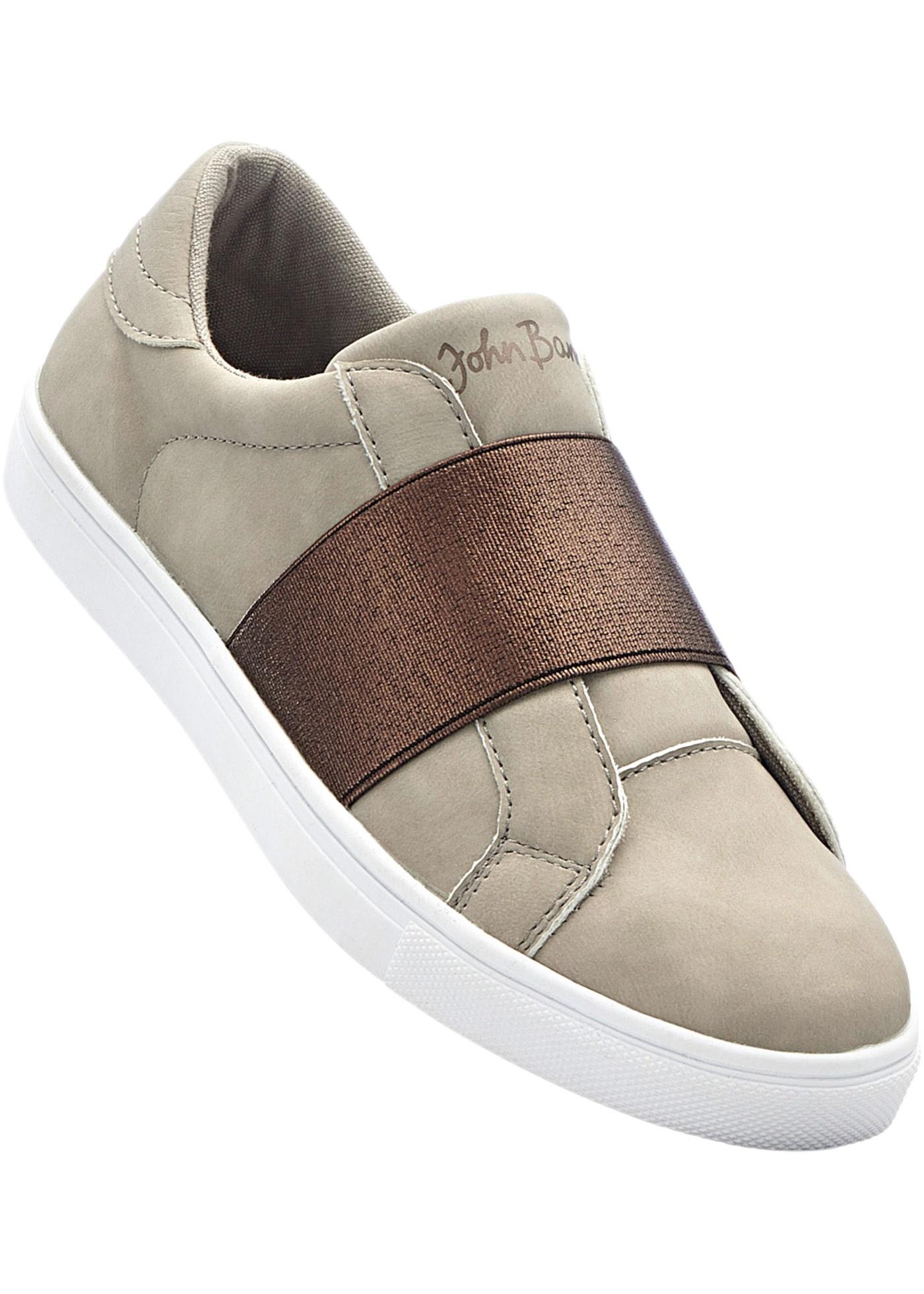 """Sneakers avec semelle extérieure légère et flexible, première amovible, bande élastique décorative pour s""""ajuster parfaitement en largeur."""