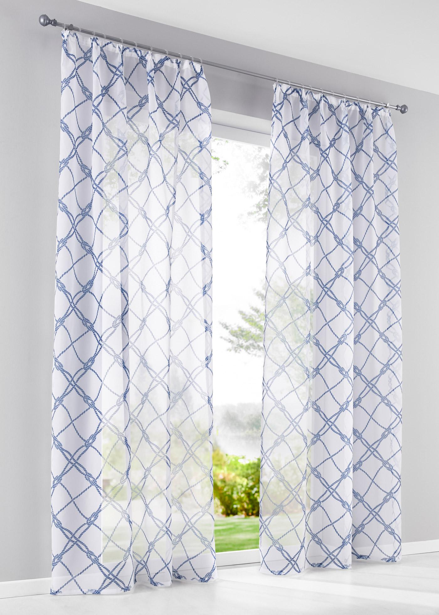 Imprimé, transparent, voile, dimensions = dimensions du tissu.