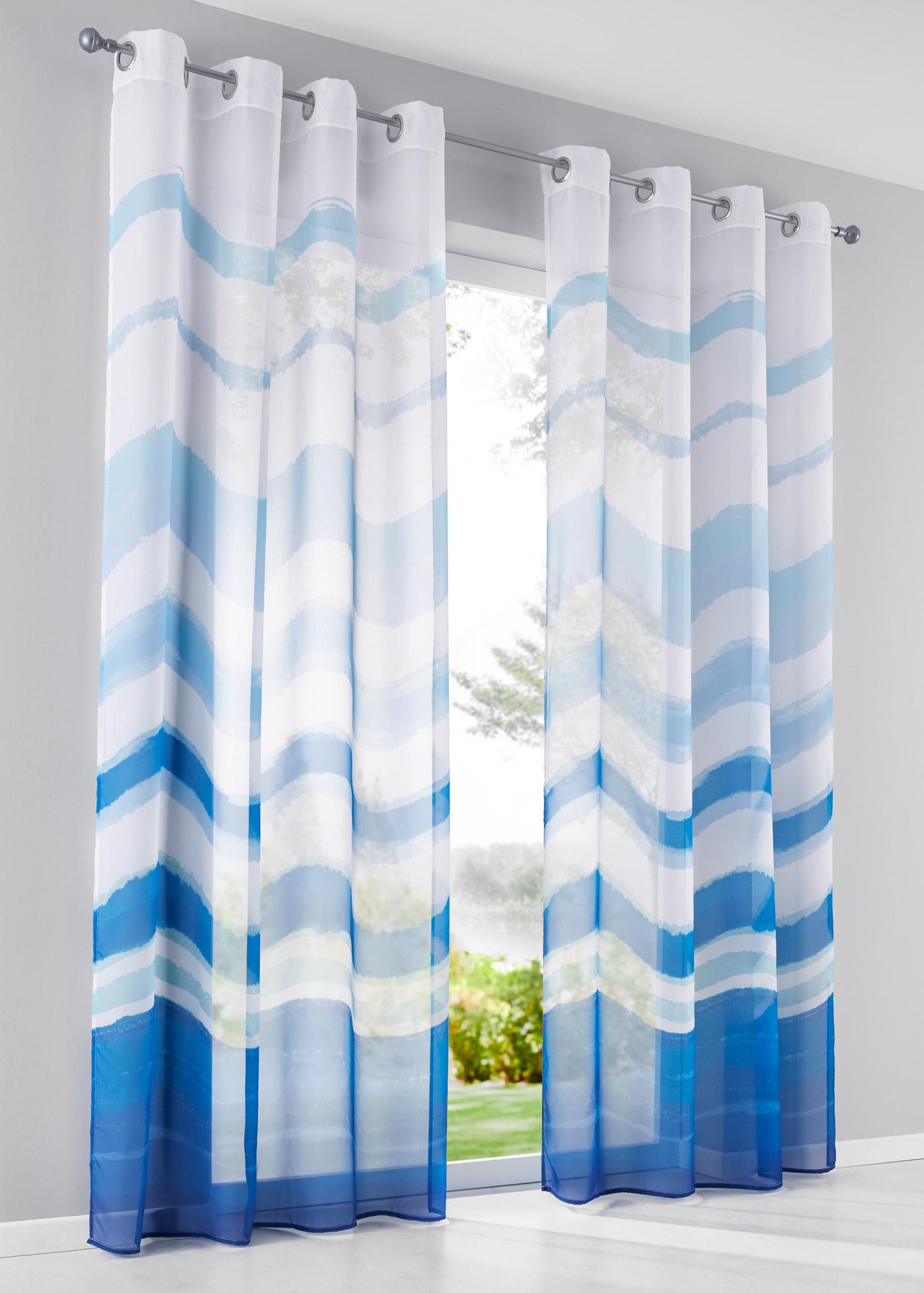 Imprimé, voile transparent, dimensions = dimensions du tissu.