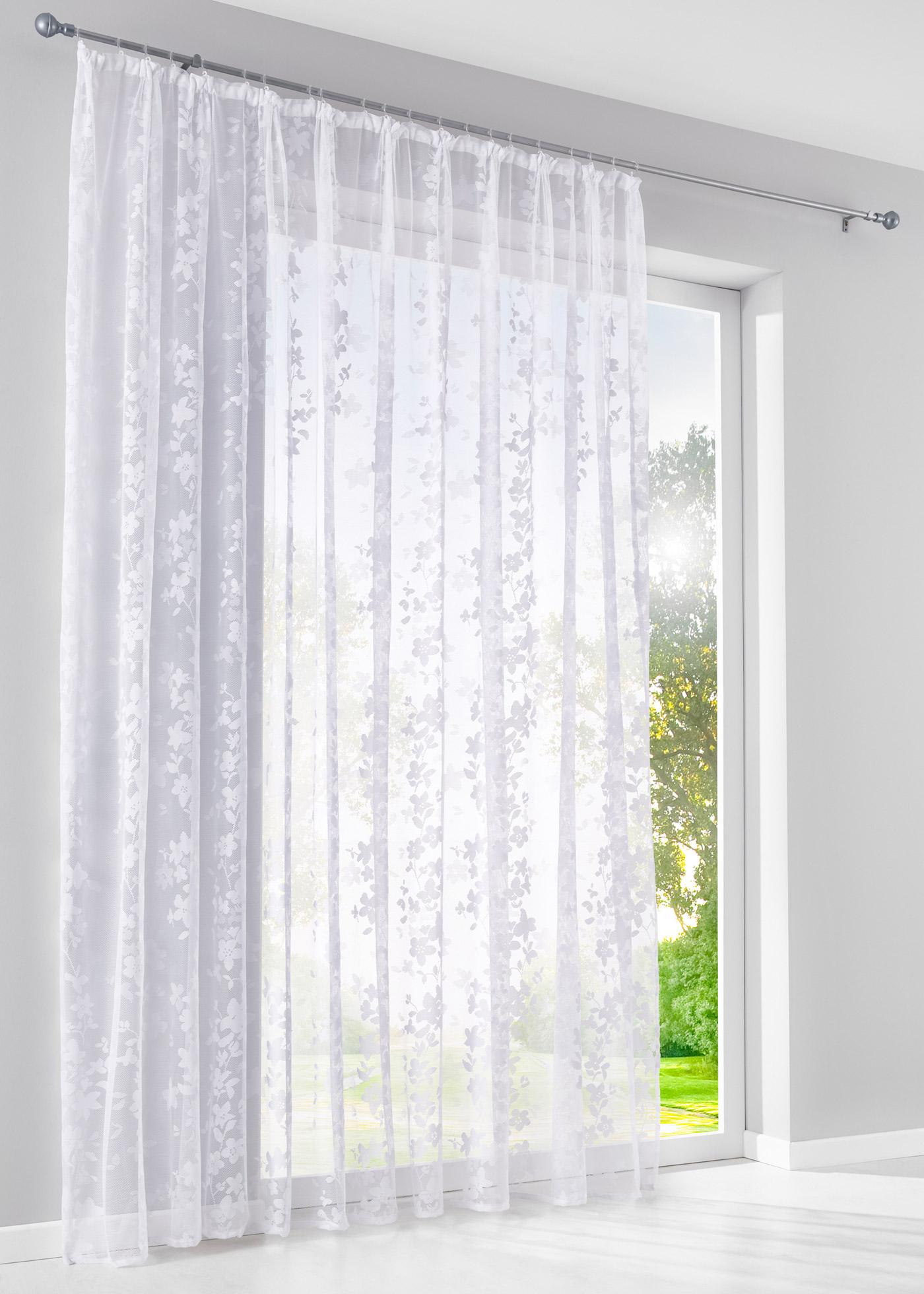 Tissu jacquard transparent de qualité supérieure, dimensions = dimensions du tissu.
