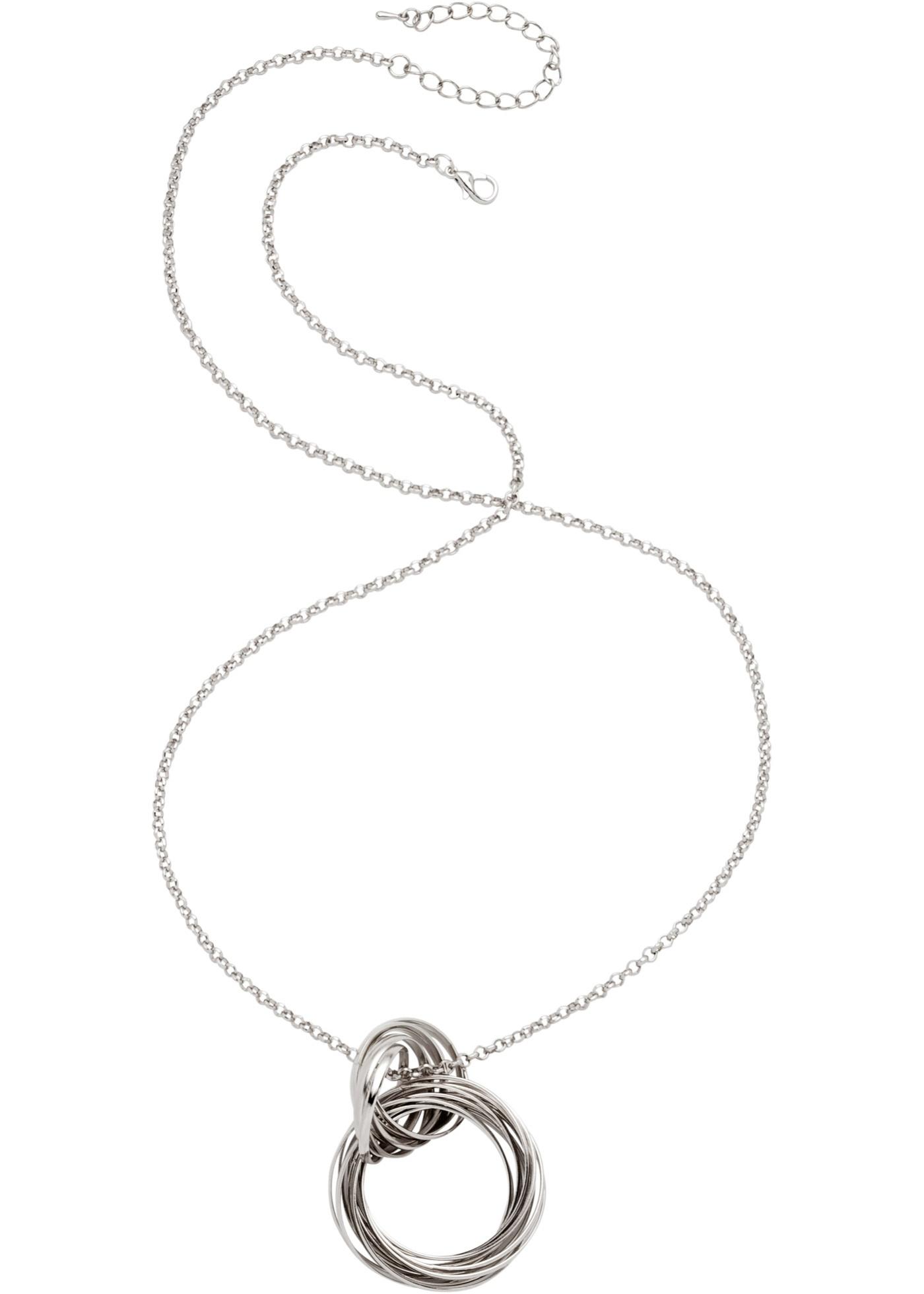 Ce collier au design sobre se porte aussi bien pour les occasions festives que décontractées.