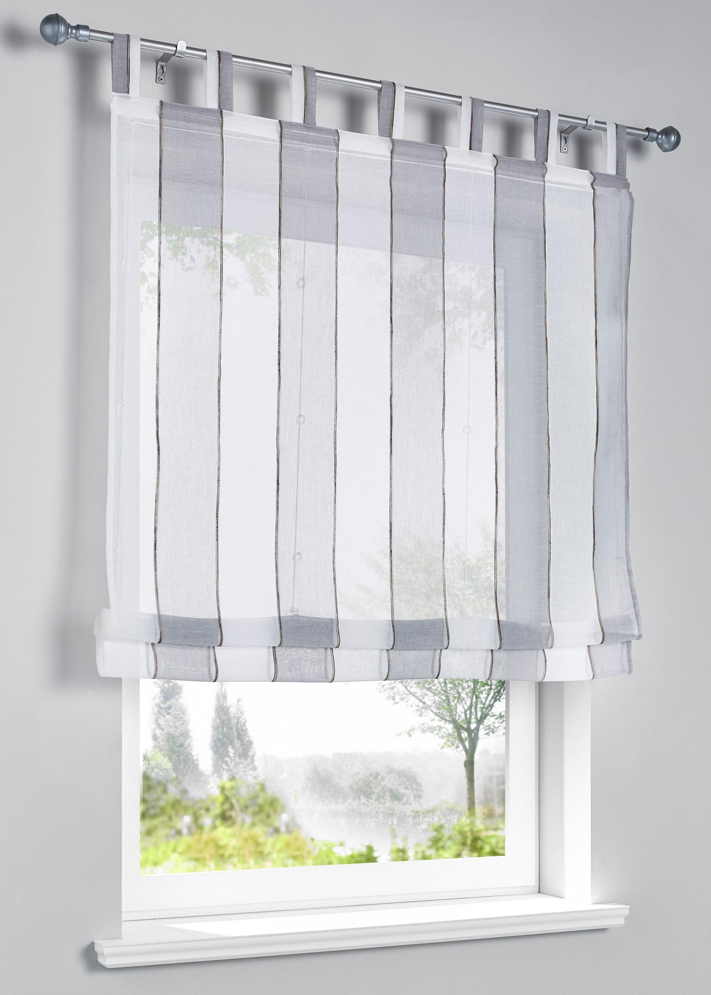 Semi-transparent, dimensions = dimensions du tissu.