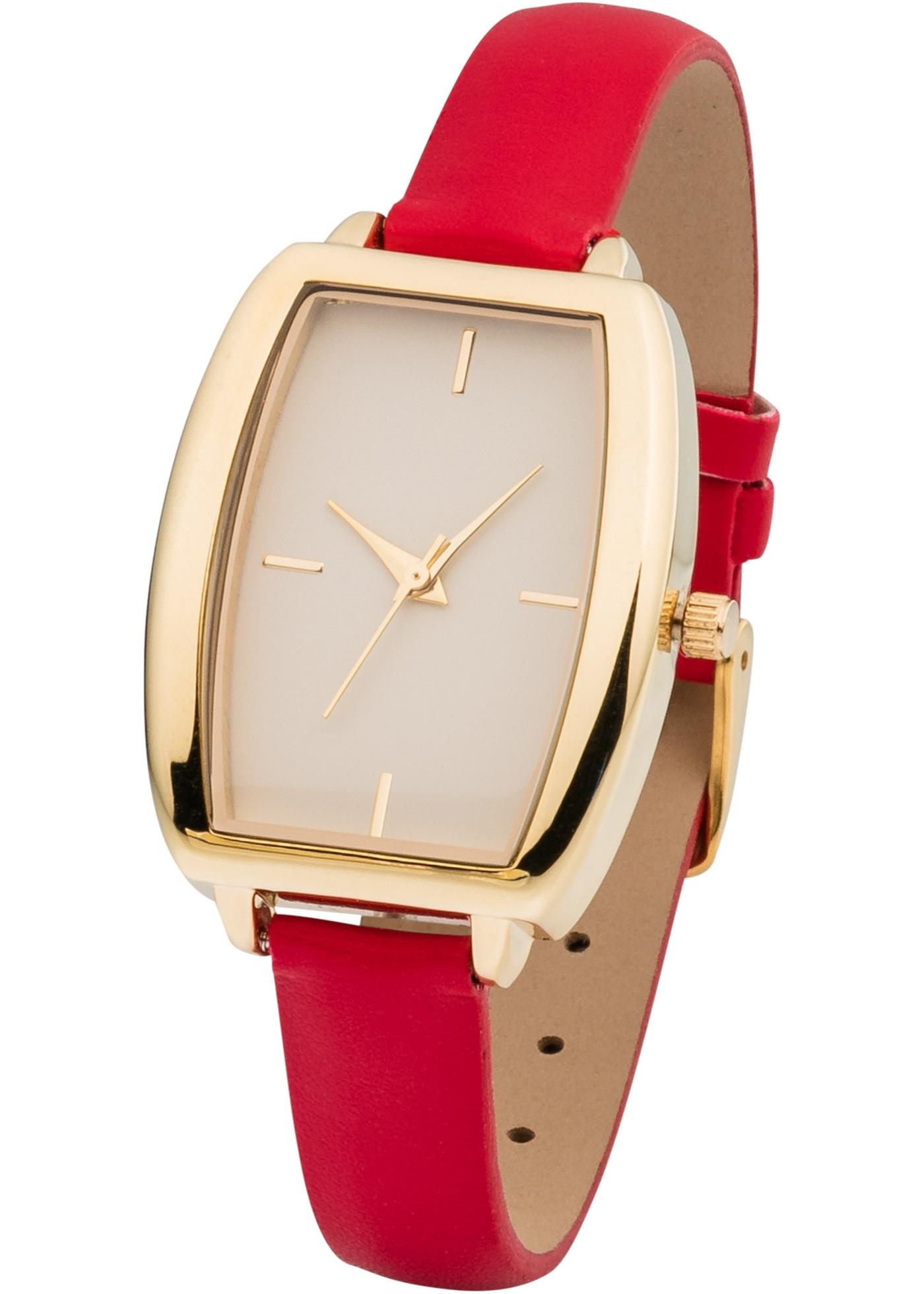Une montre-bracelet sobre qui peut se porter en de nombreuses et différentes occasions. Dim. : largeur env. 2,8 cm ; longueur : env. 3,5 cm ; largeur bracelet : env. 1,2 cm. Prix comprenant éco-participation (F)=0,01€ ou recupel (B) =0,05€.