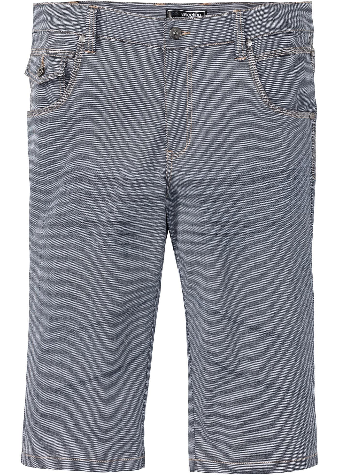 Bermuda long 5 poches