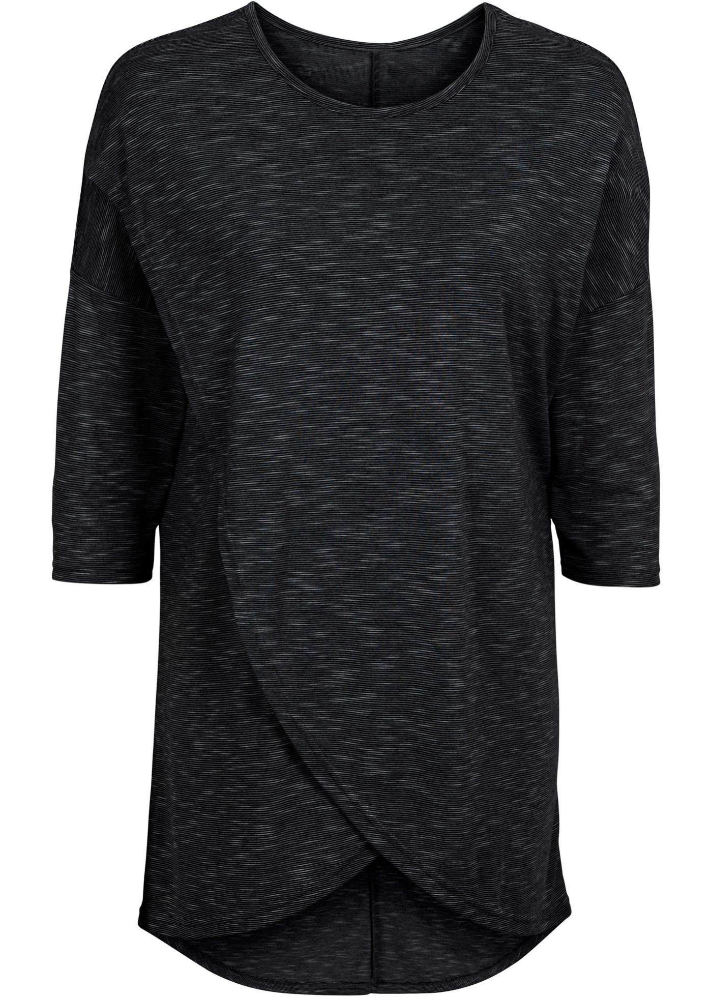 T-shirt long asymétrique