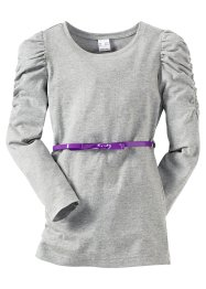 Le T-shirt long avec ceinture (bpc bonprix collection)