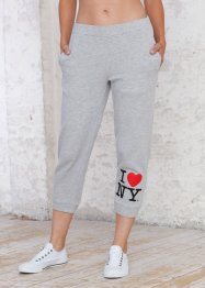 Le pantalon 7/8 matière sweat (bpc bonprix collection)