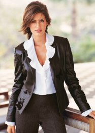 Le blazer simili cuir (bpc selection)